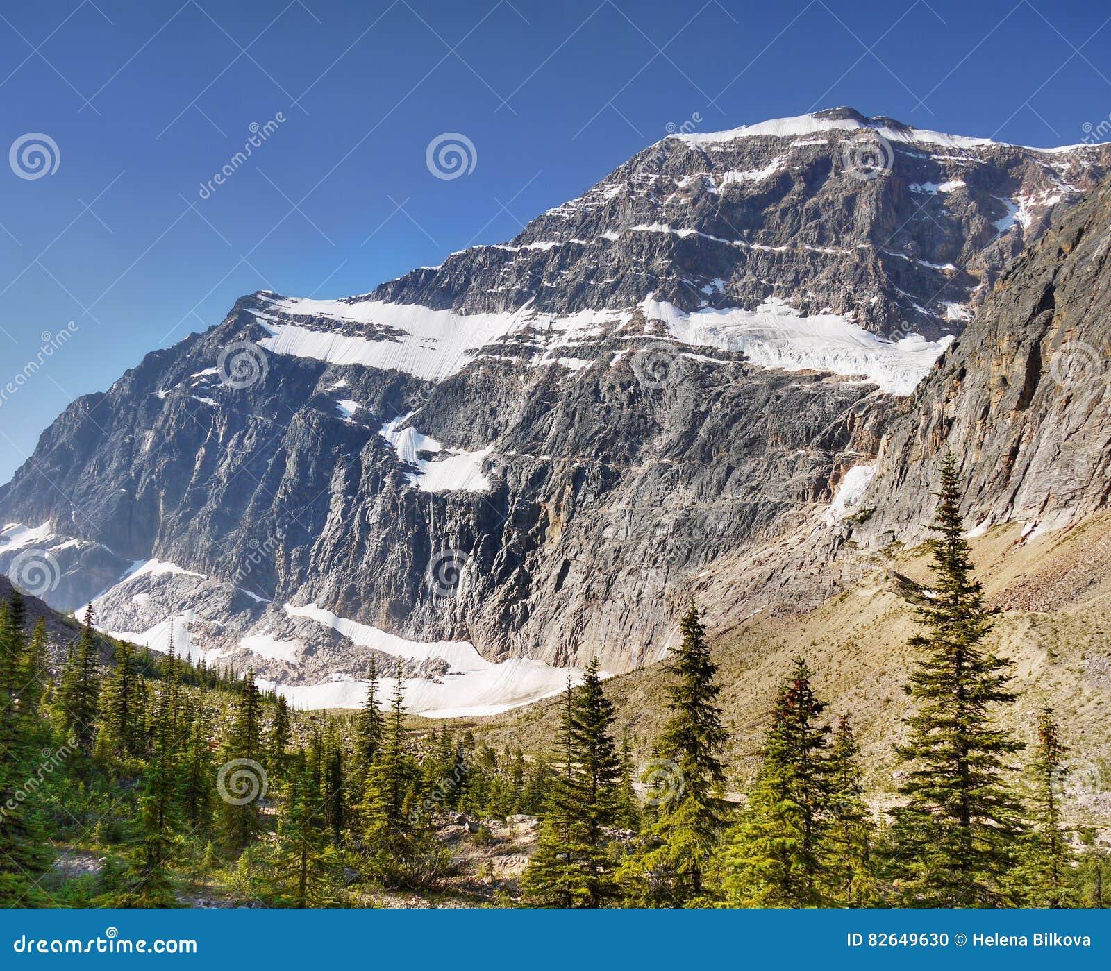 Mountain Range Landscape view, National Park, Canada