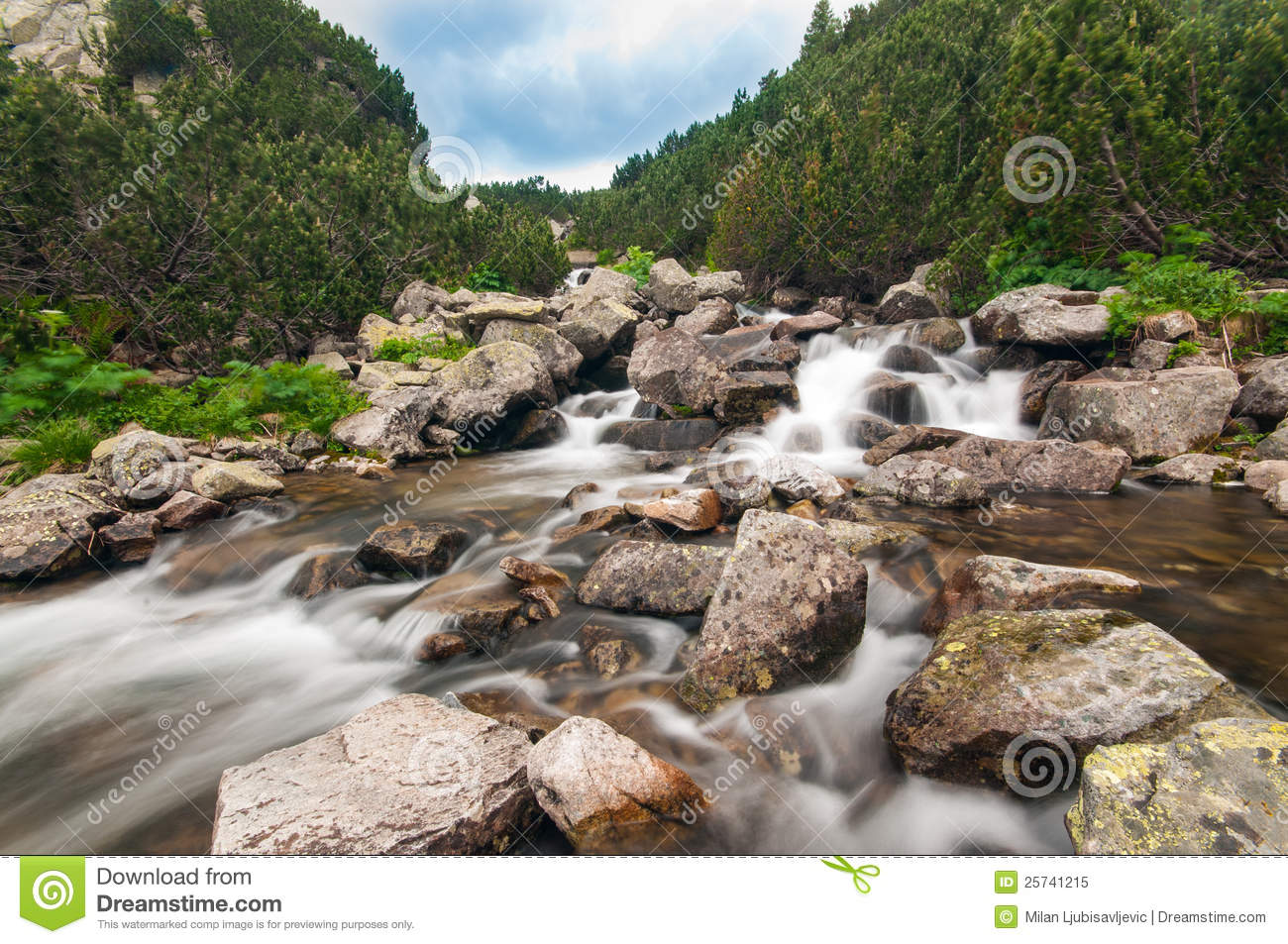 Mountain River Scenery
