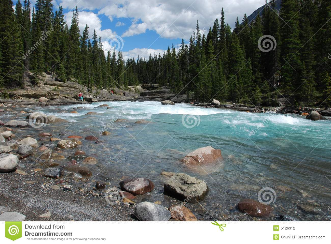 Mountain and rivers