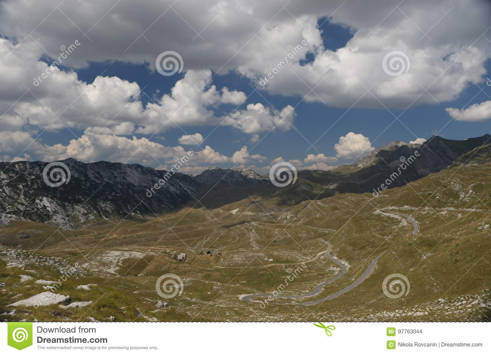 Mountain road Durmitor