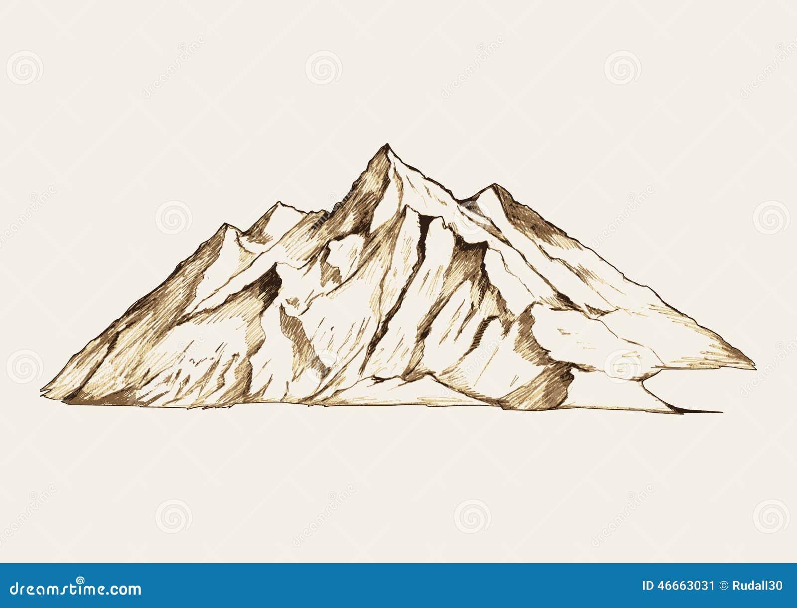 Mountain Stock Vector Image 46663031