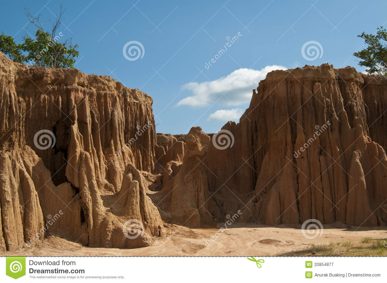 Mountain soil stock image. Image of outdoor, canyon ...