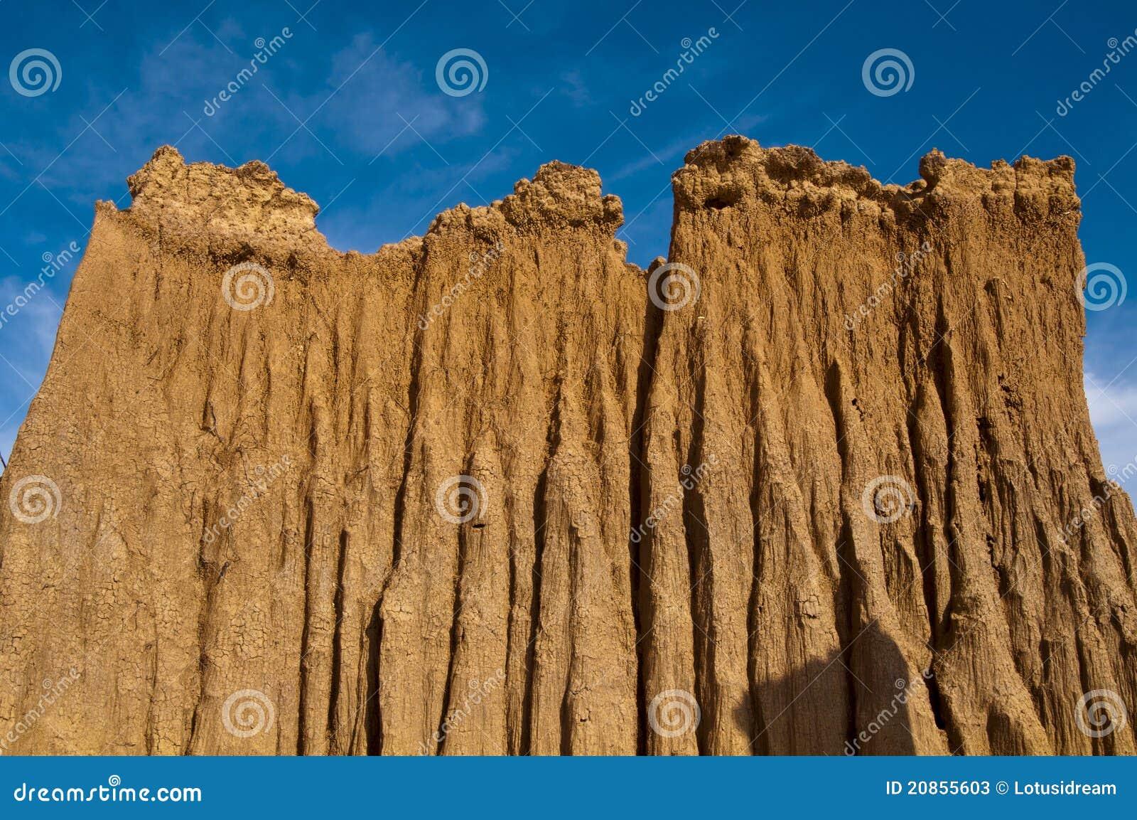 Mountain soil stock image. Image of sand, heat, park ...