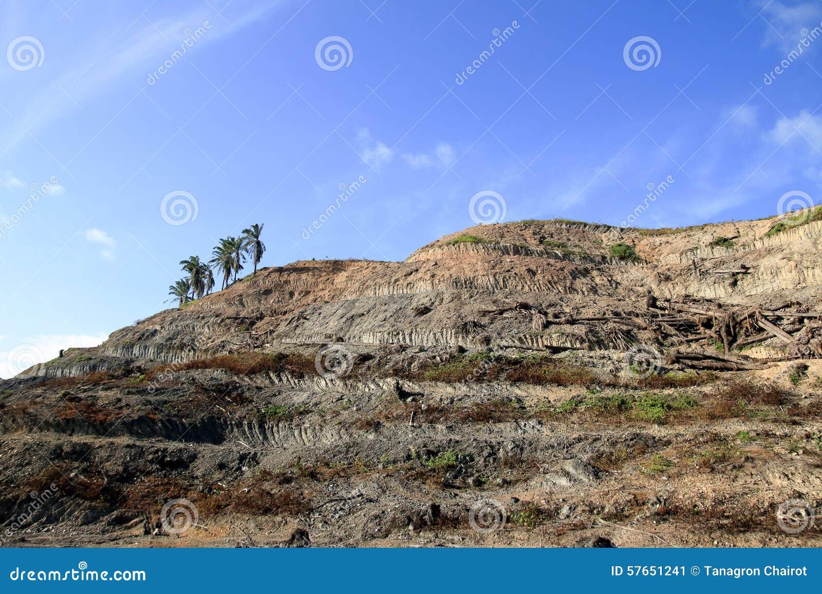 Mountain Soil Stock Photo - Image: 57651241