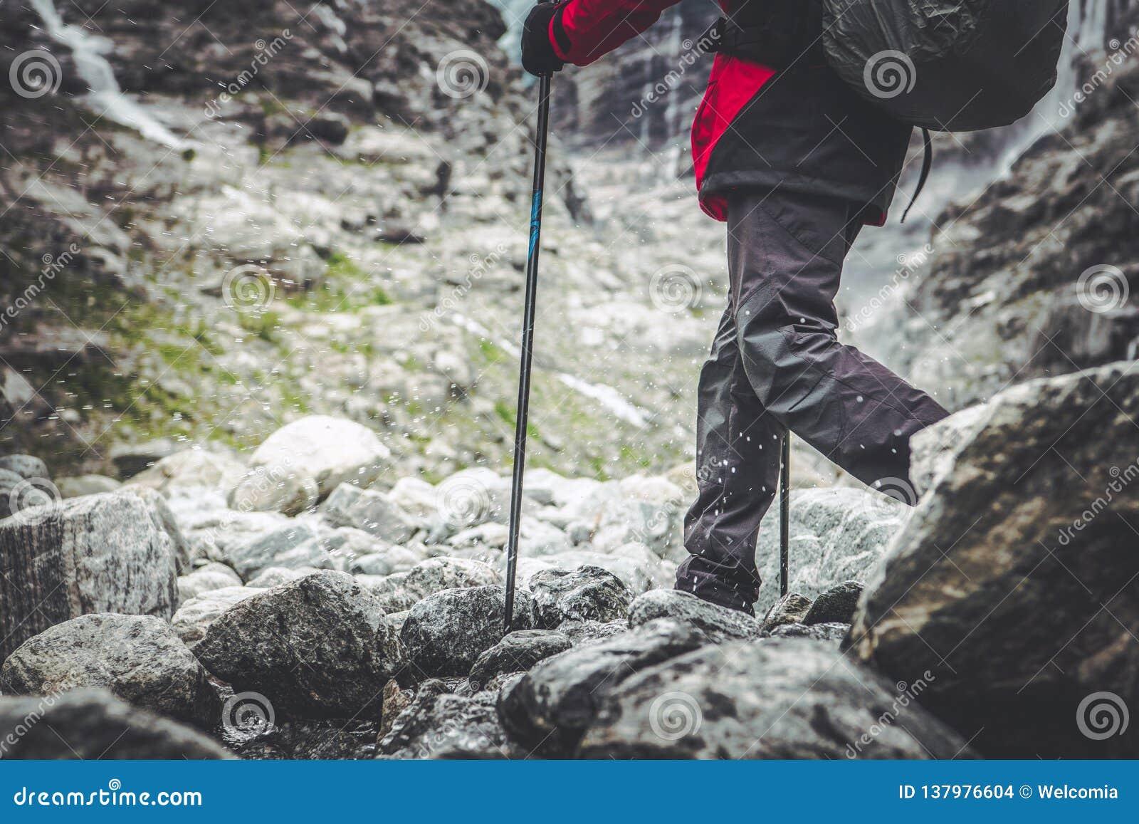 Mountain Trail Hiker