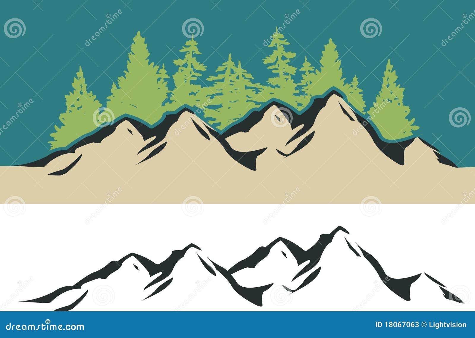 Mountain Trees Stock Illustrations 27 391 Mountain Trees Stock Illustrations Vectors Clipart Dreamstime