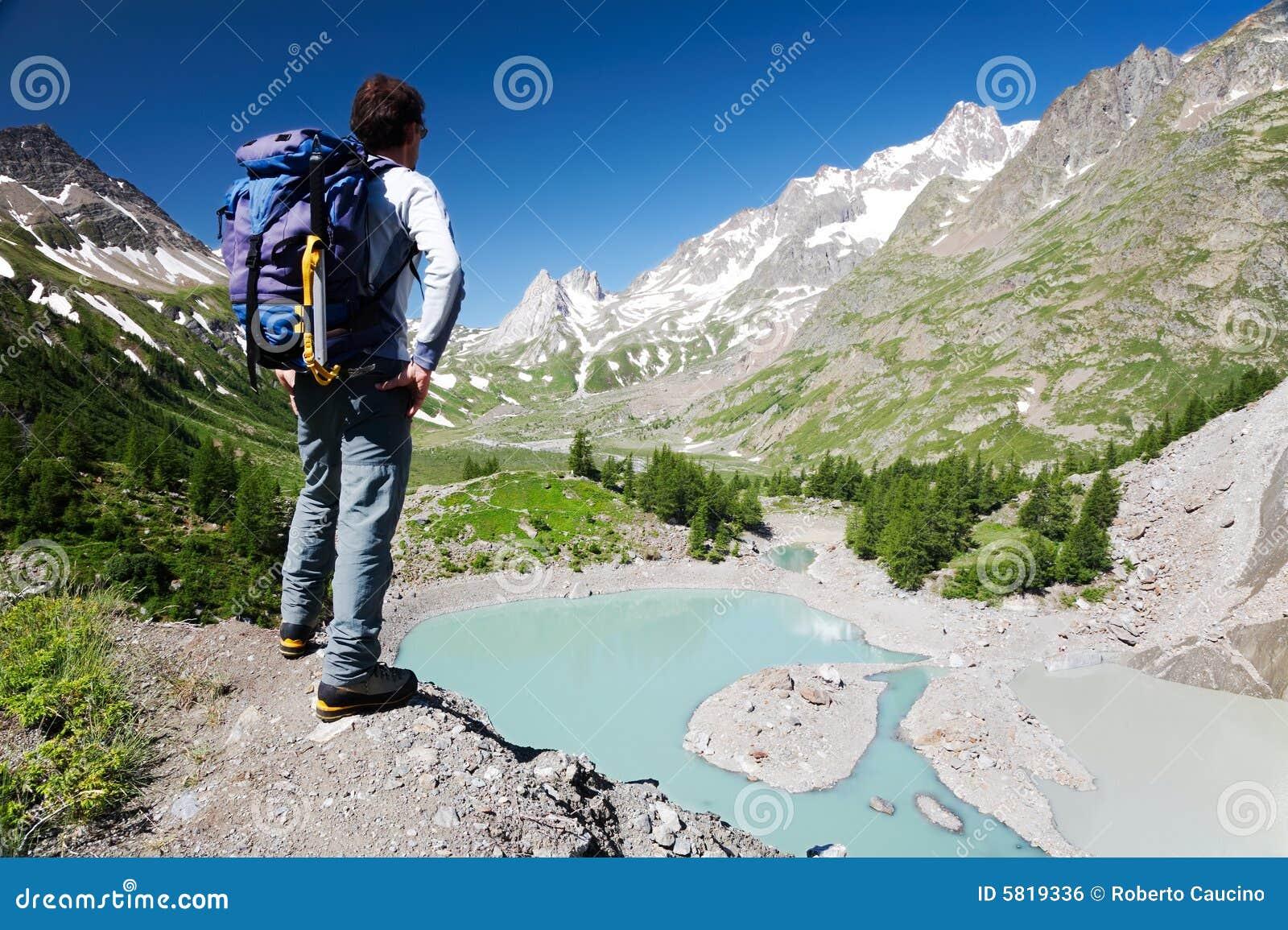Mountain trekker stock photo. Image of summer 83ead15d706e8