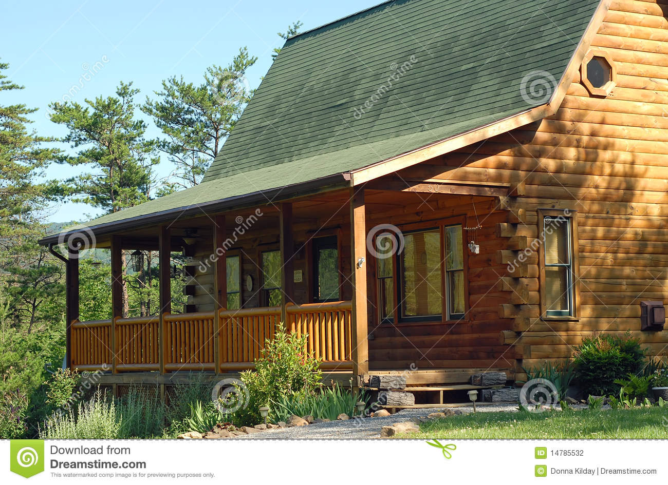 Mountain Vacation Home Stock Photography Image 14785532
