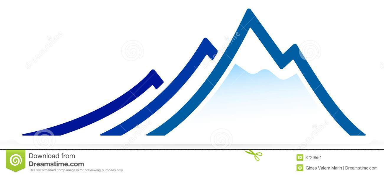 Mountain (vector) Stock Image - Image: 3729551