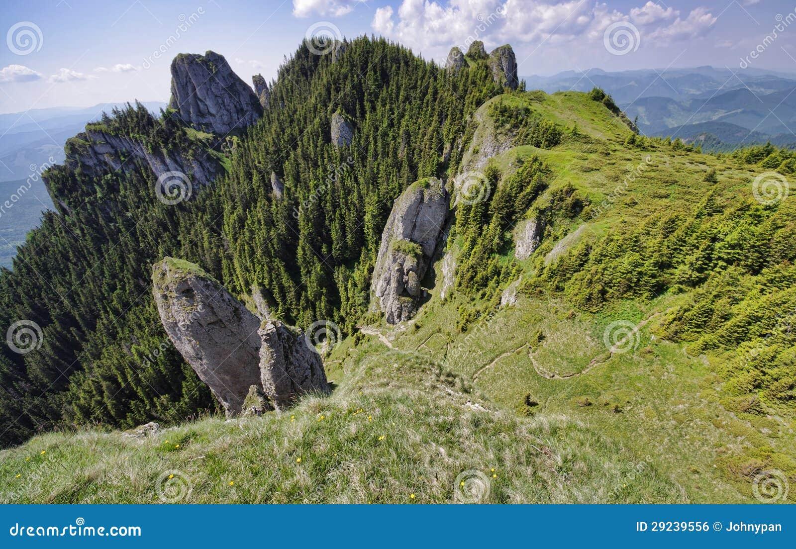 Download Mountain View de acima foto de stock. Imagem de pathway - 29239556