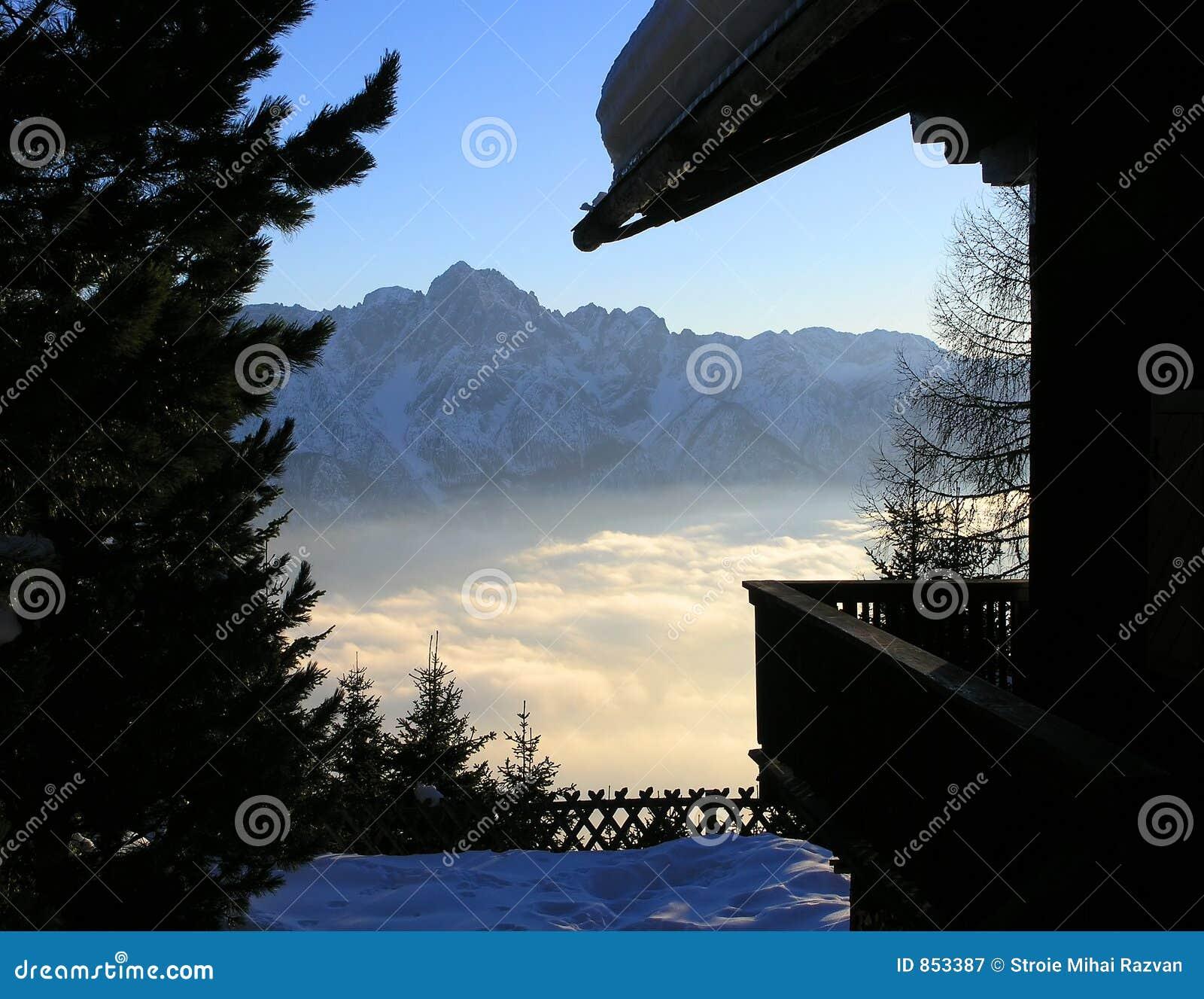 Mountain View em Áustria (Lienz)