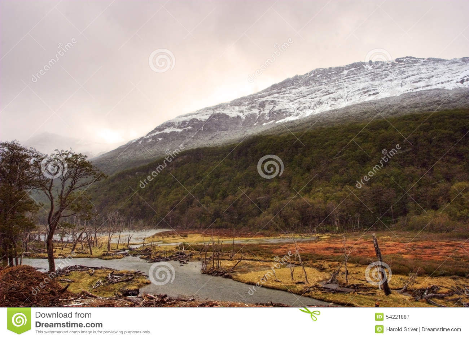 Mountain View em Tierra del Fuego