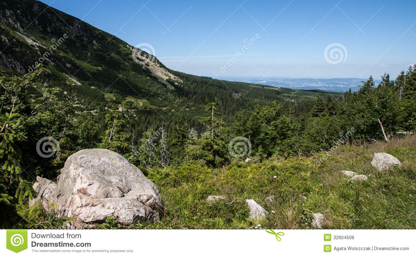 Mountain View et trekking de Karkonosze