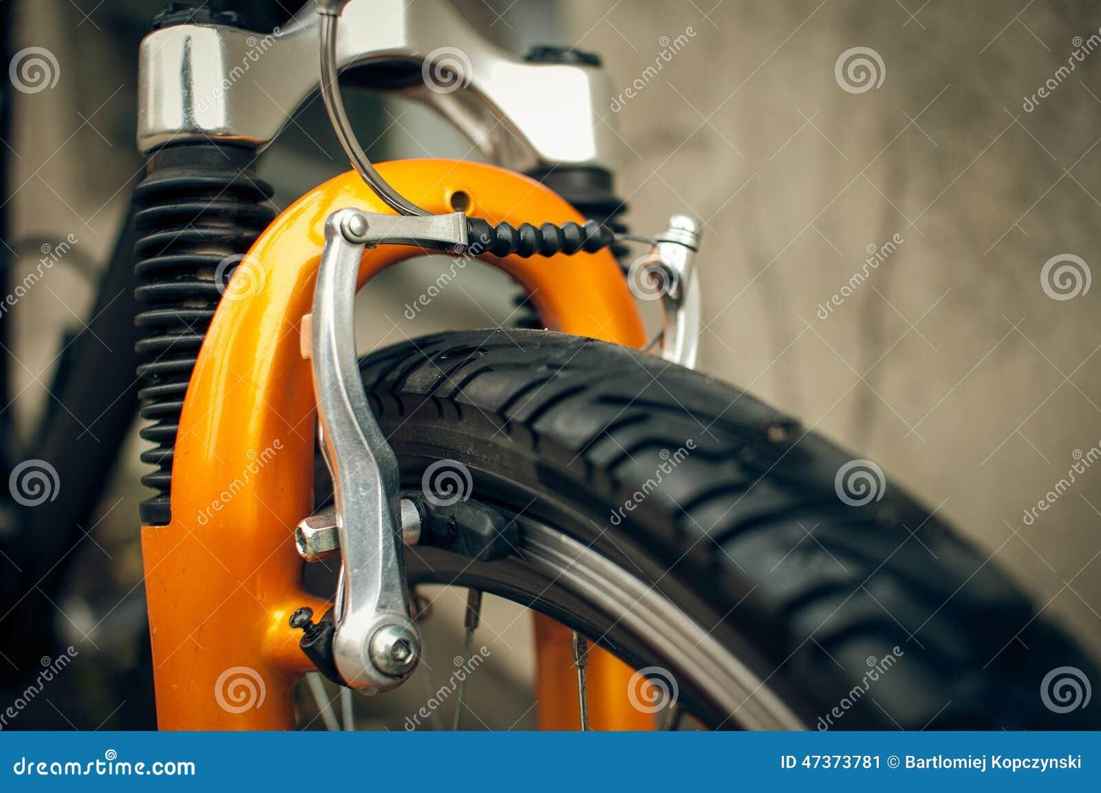 Mountainbikebremsen stockbild. Bild von türen, farben - 47373781