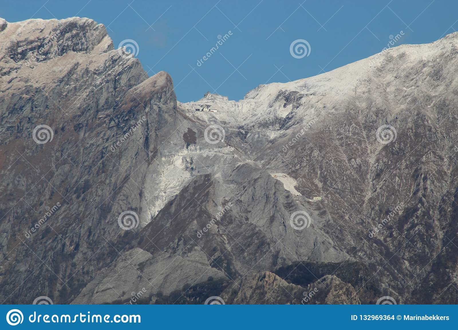 The beautiful landscape and mountains of Italy