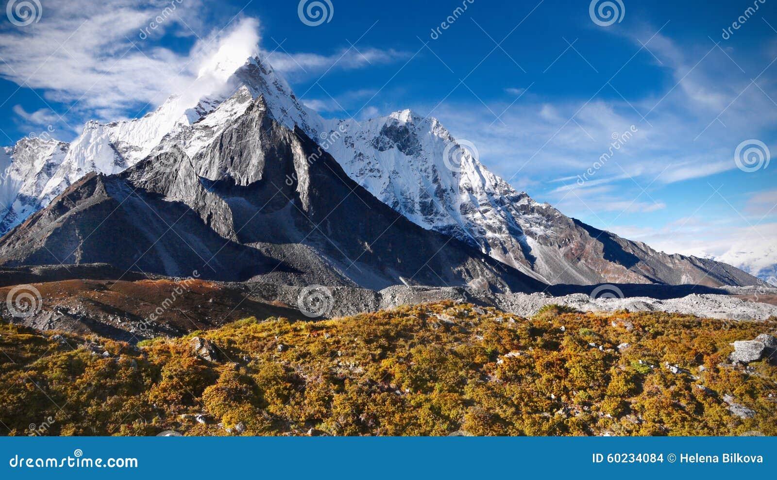 Mountains, Autumn, Everest, Himalayas