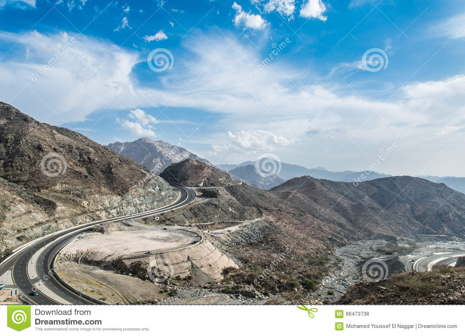 Al Hada Saudi Arabia  City pictures : Al Hada Mountains in Ta'if city in Mecca Province of Saudi Arabia.