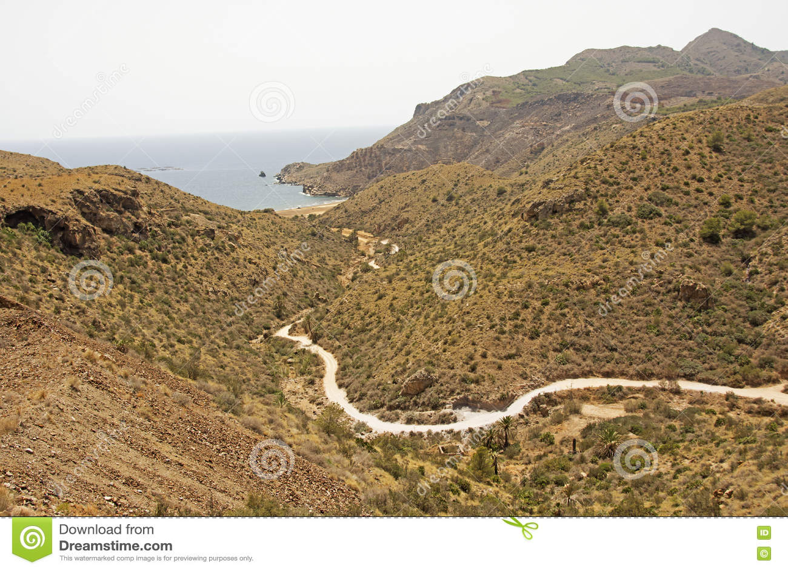 Secluded Sandy Beaches Near Murcia