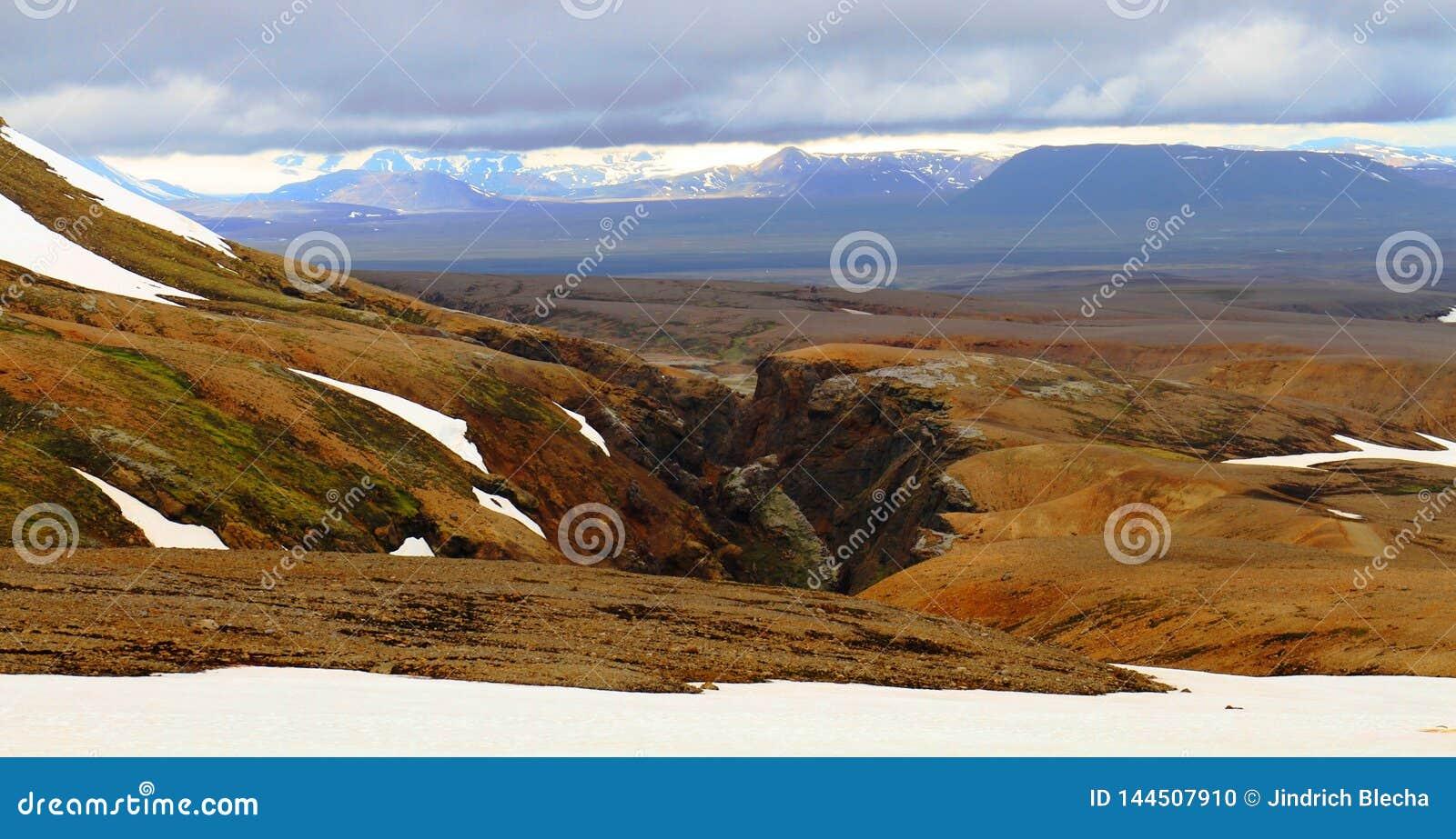 Hveradalir geothermal park, Kerlingarfjoll, Iceland