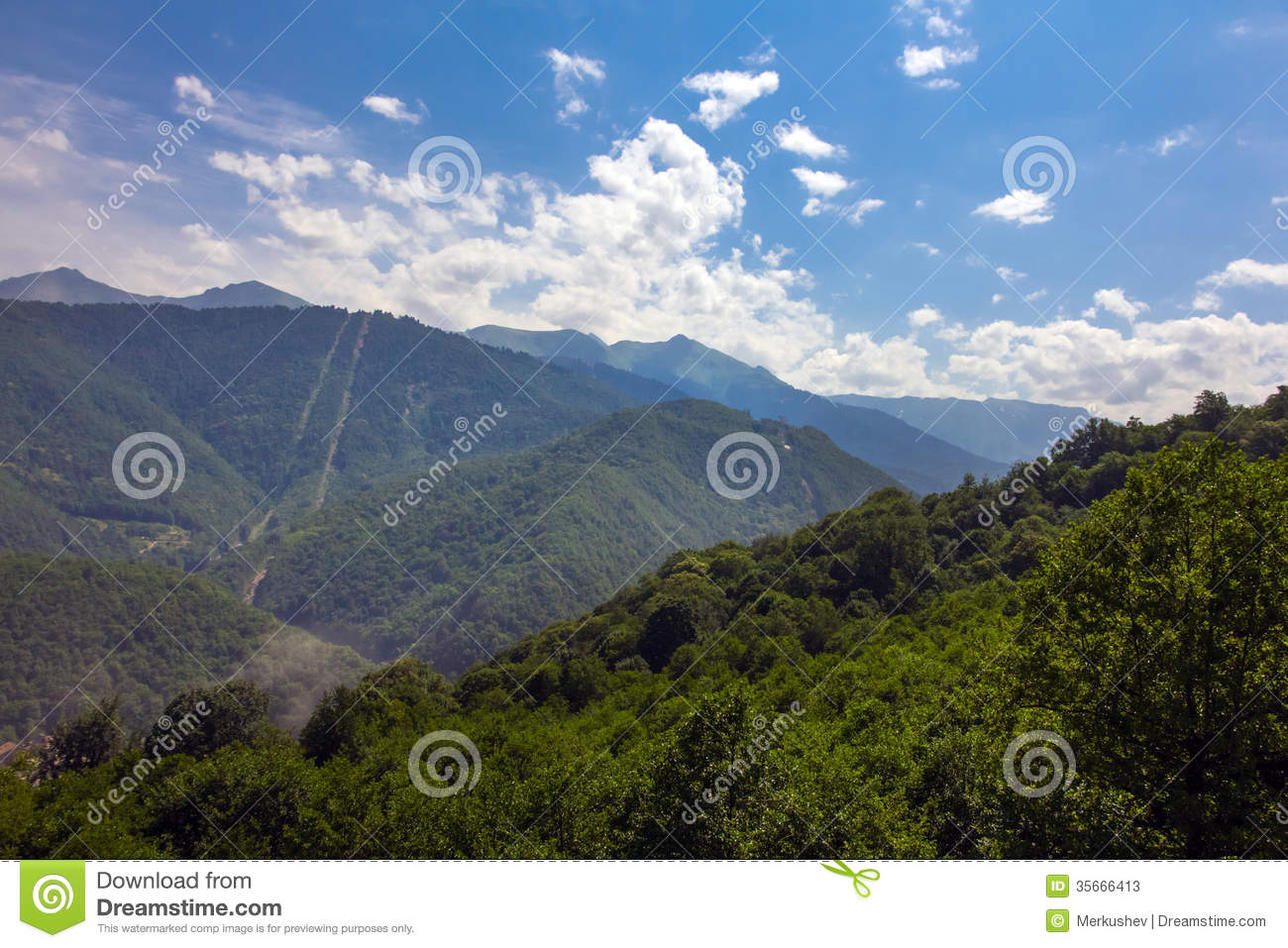 Krasnaya Polyana Russia  City pictures : Mountains Of Krasnaya Polyana. Sochi, Russia. Stock Photos Image ...