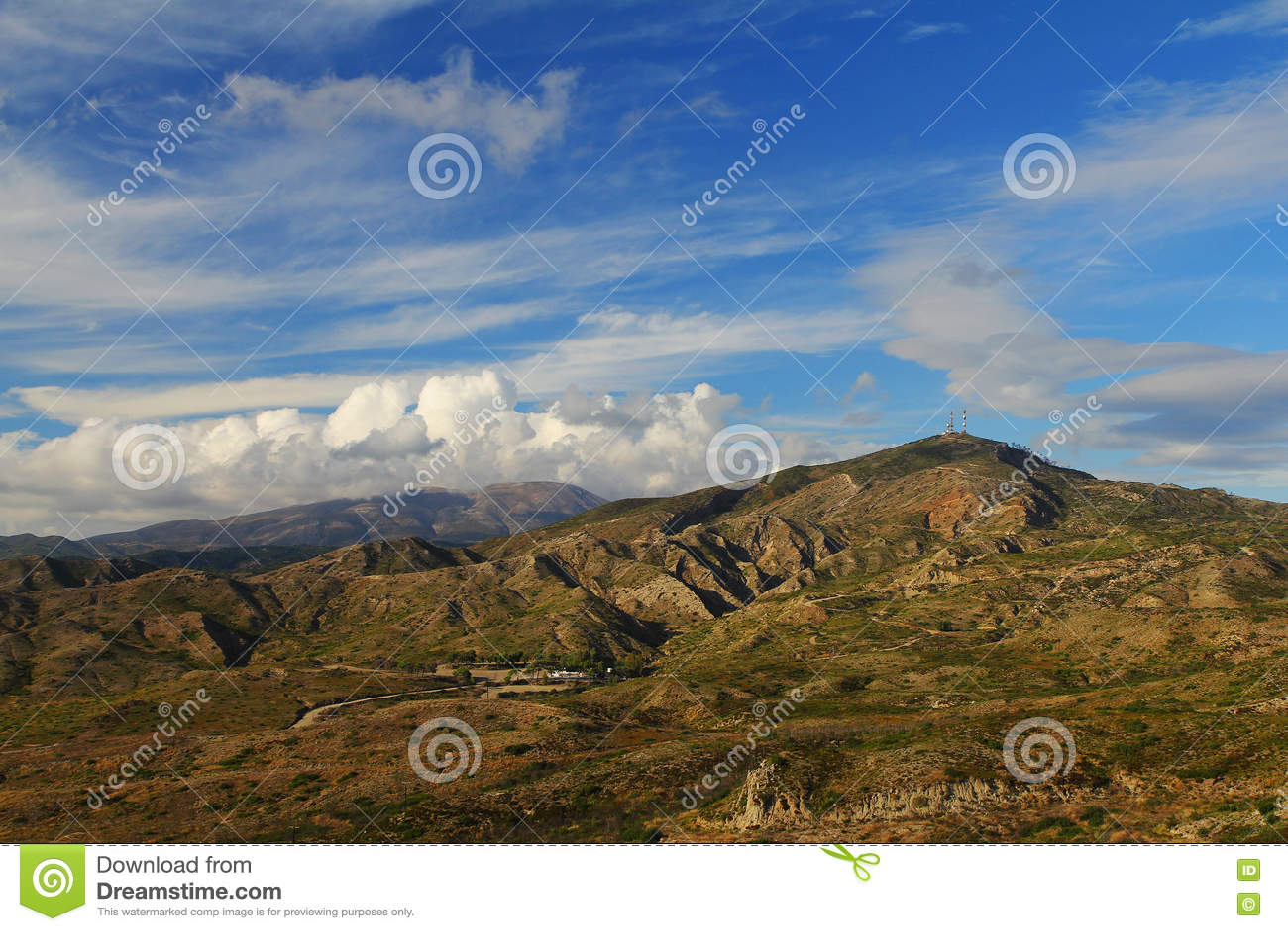 Mountains on Rhodes (Greece)