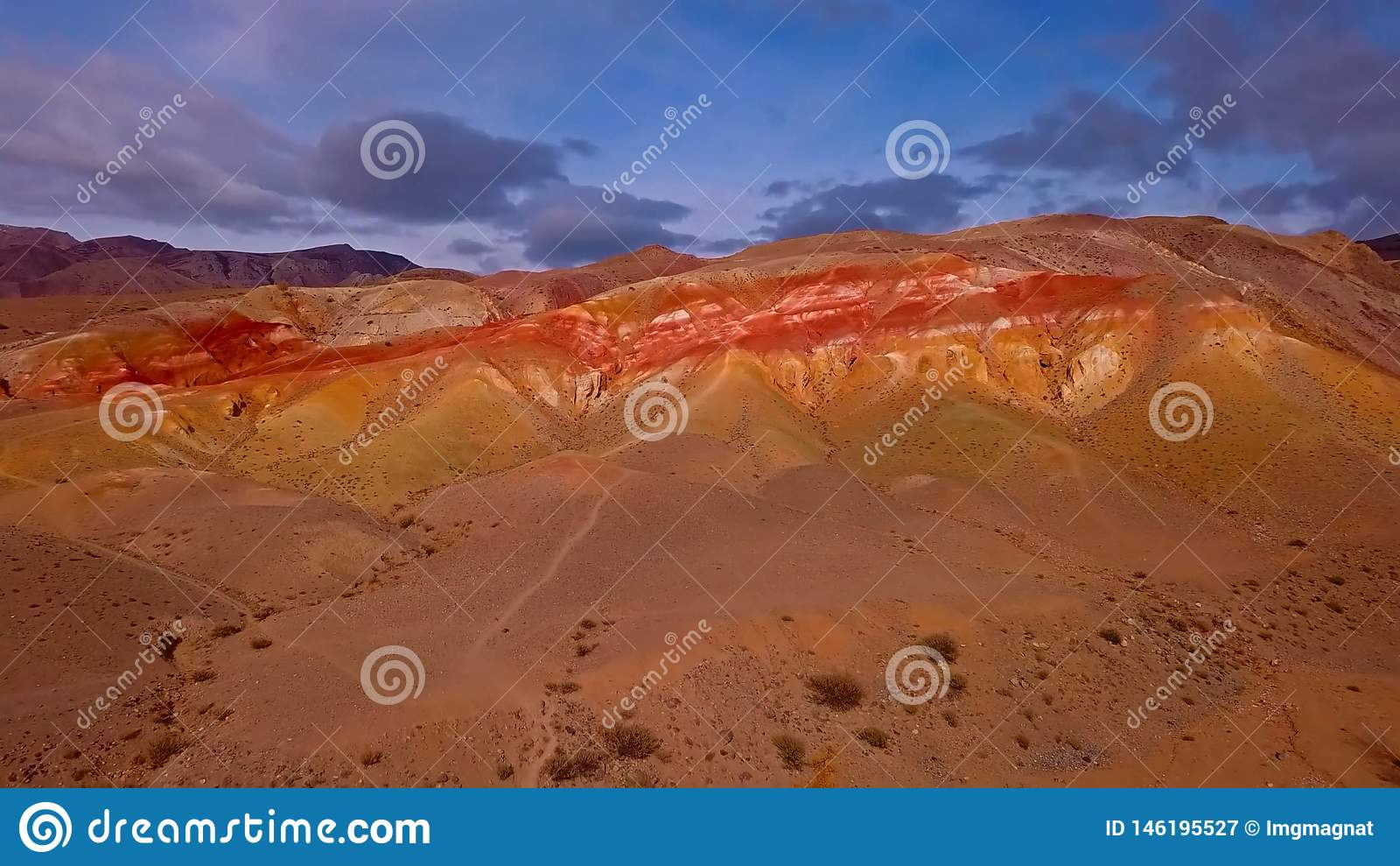 Desert in Mountain