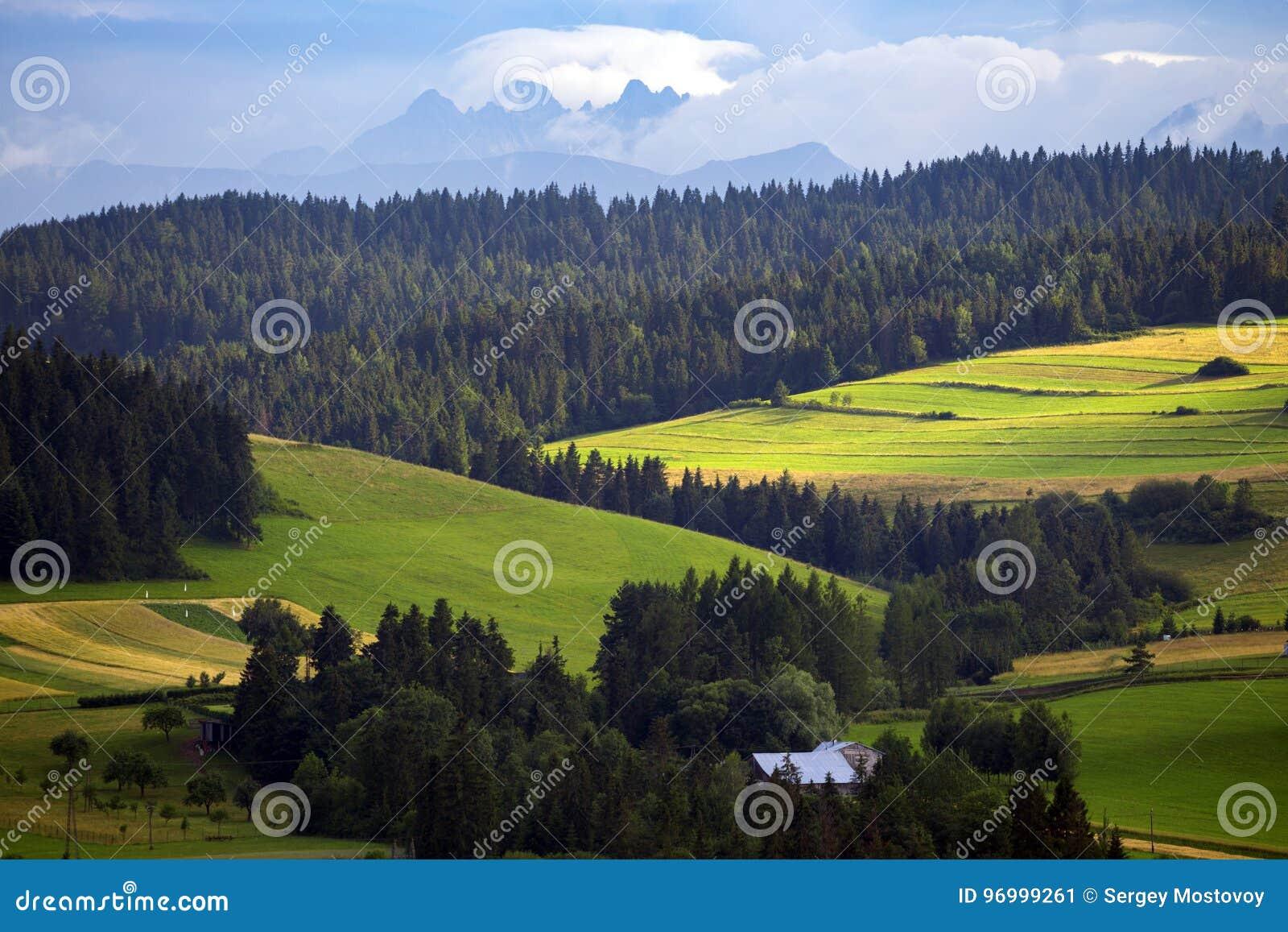 Mountains Tatry at the Zakopane