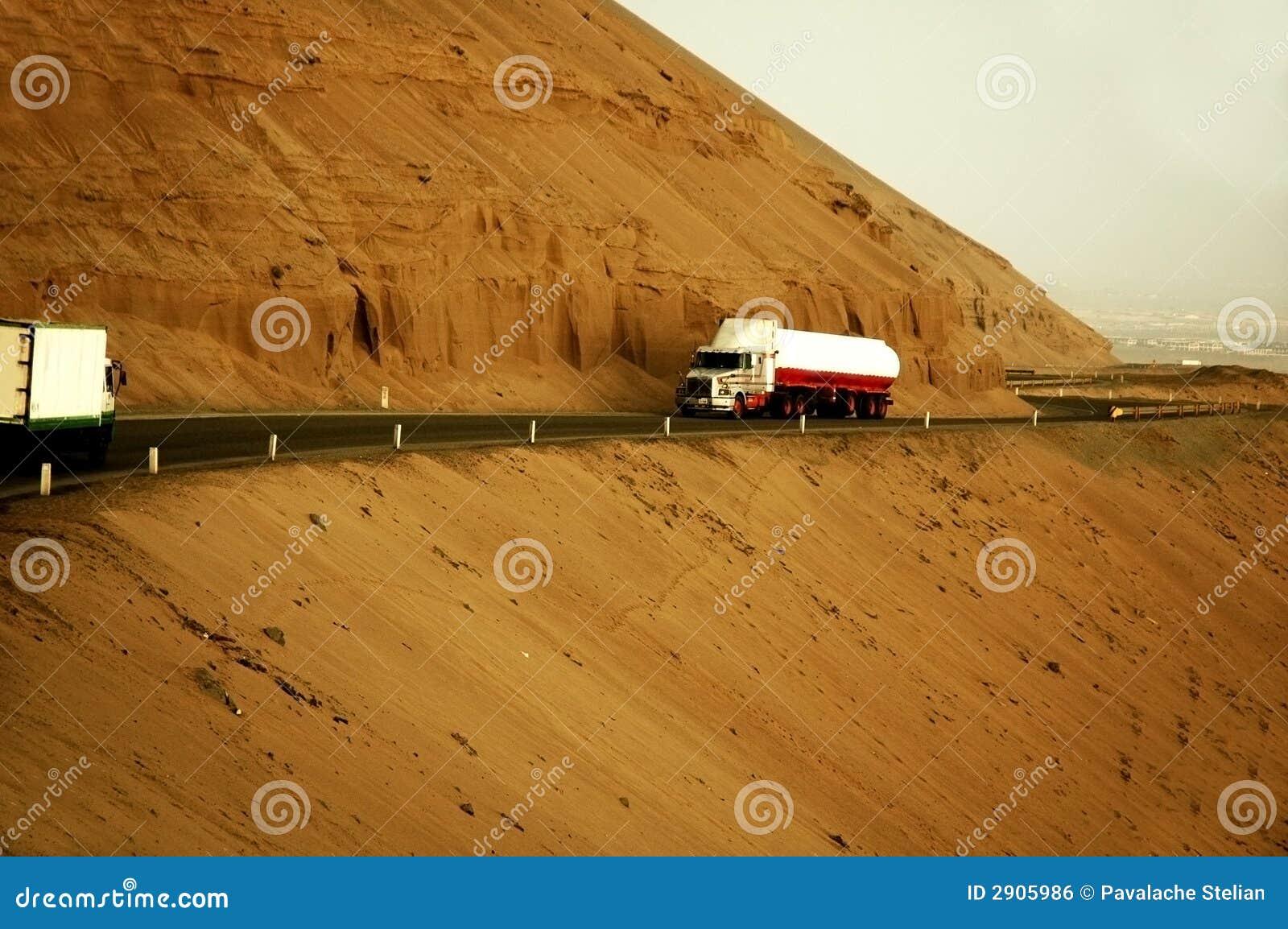 Mountainside οδικά truck