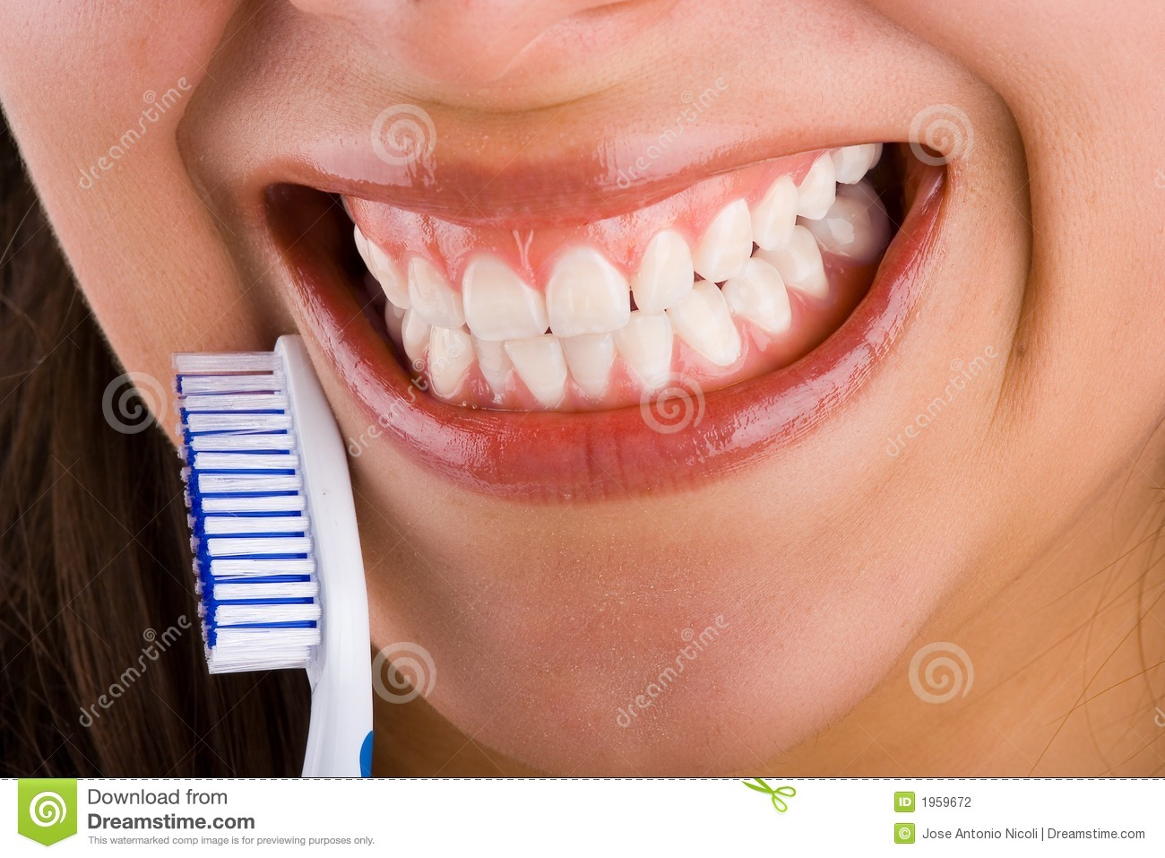 mounth and toothbrush 4 stock photo image of cleanliness 1959672