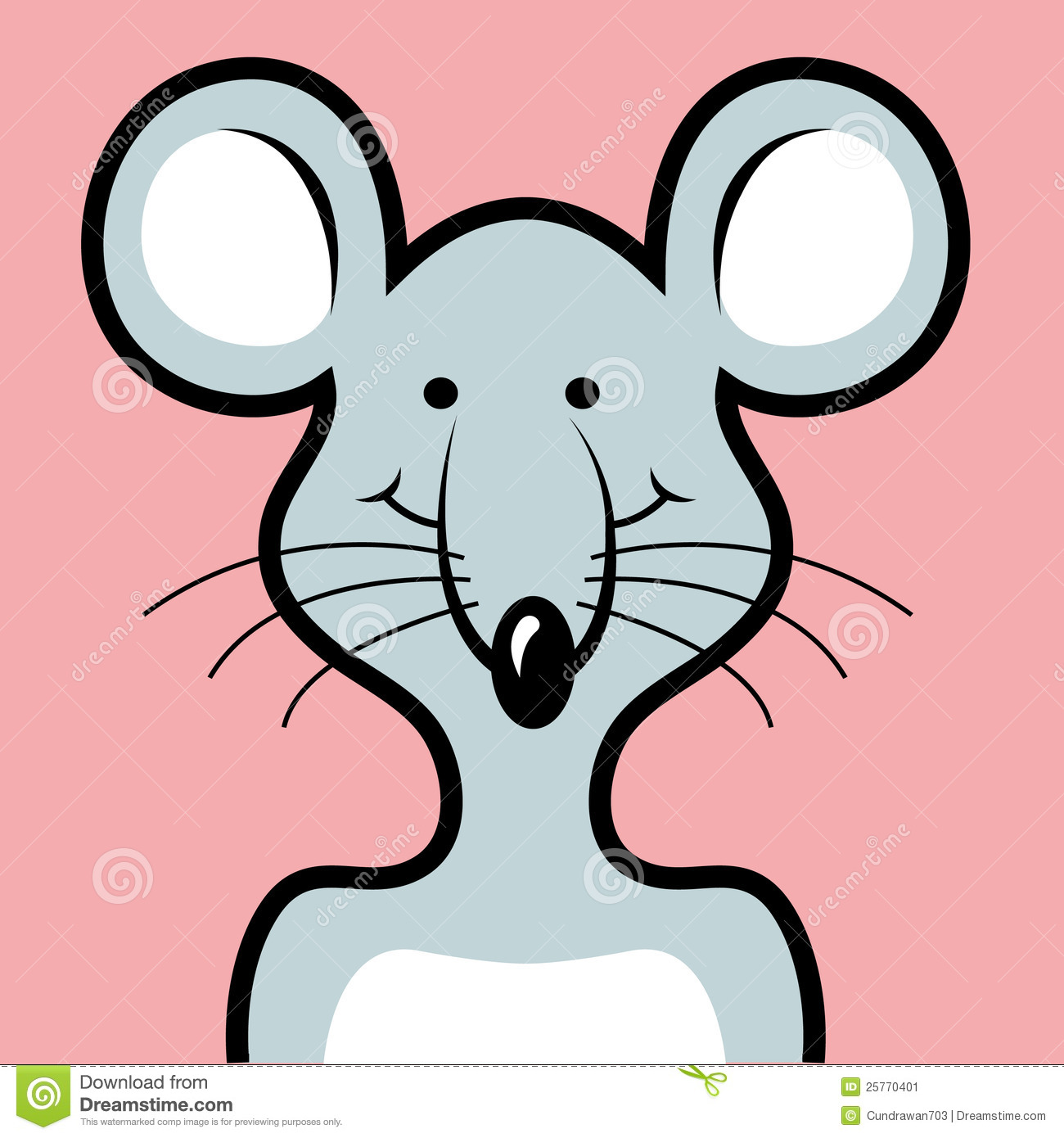 Avatar 2 Animals: Mouse Avatar Stock Image