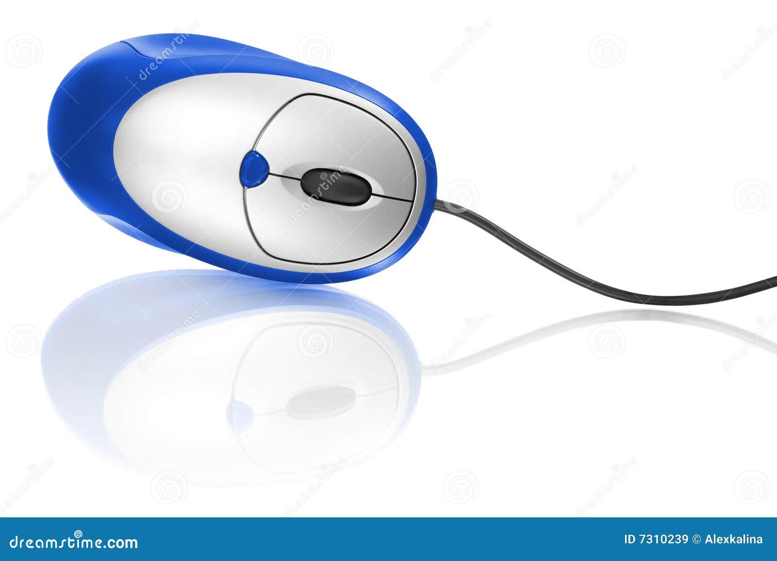 Mouse blu del calcolatore
