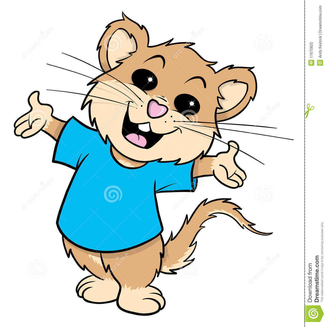 Mouse Cartoon Illustration Stock Photo - Image: 11670820