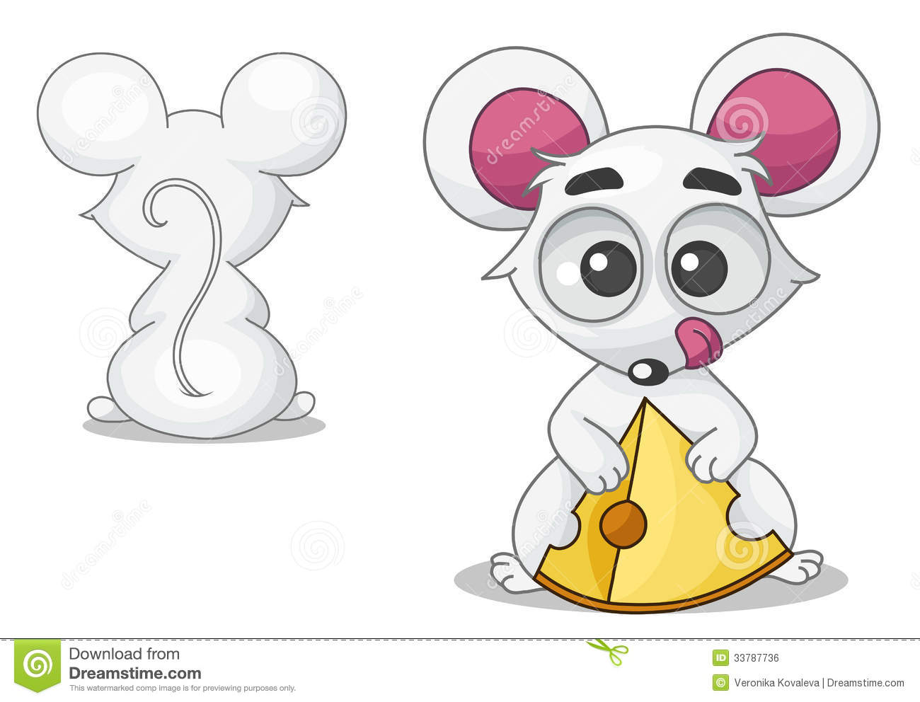 clipart mouse eating cheese - photo #20