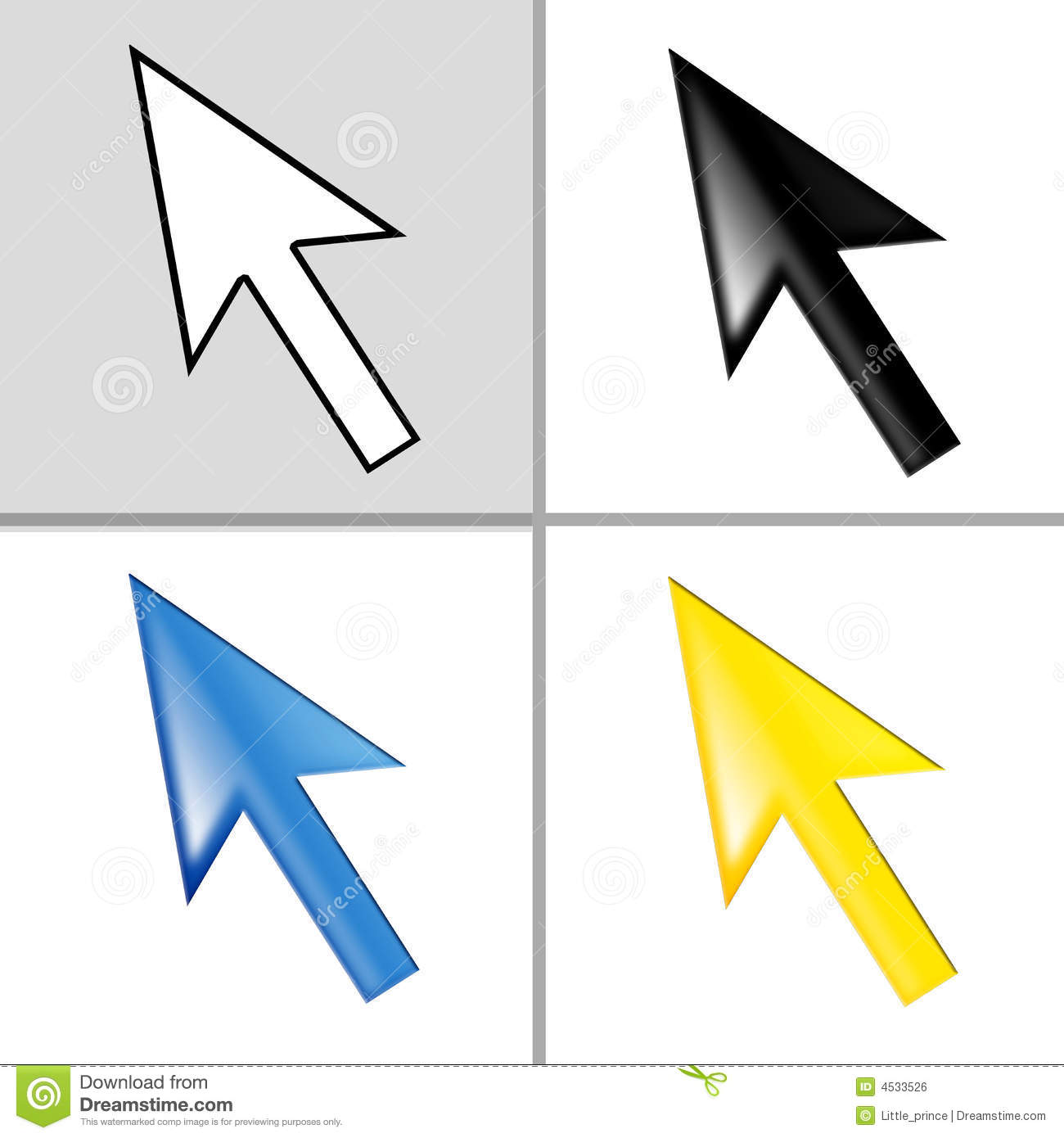 how to change the mouse cursor on a website