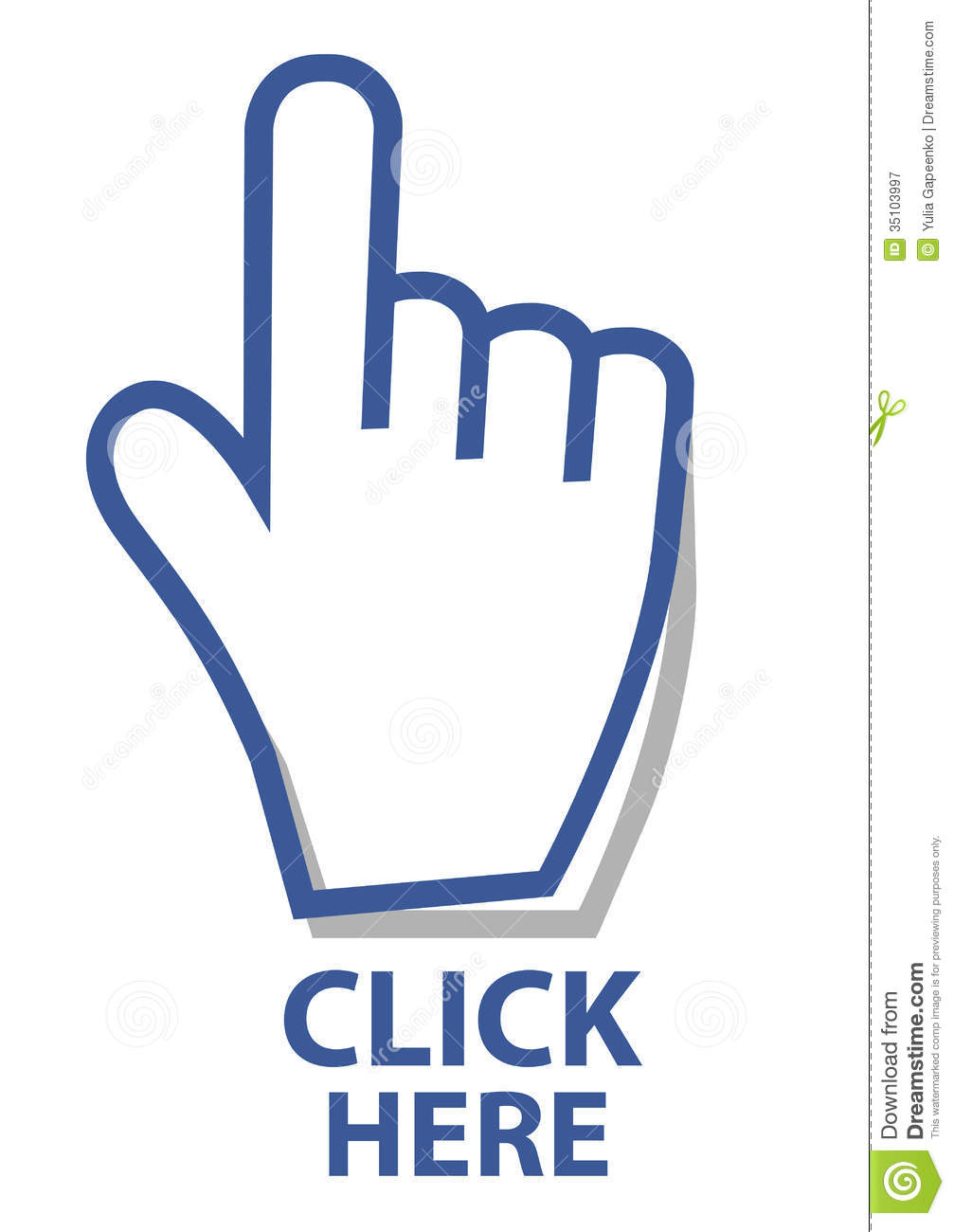 mouse hand cursor click button vector illustration royalty free stock photography image 35103997. Black Bedroom Furniture Sets. Home Design Ideas