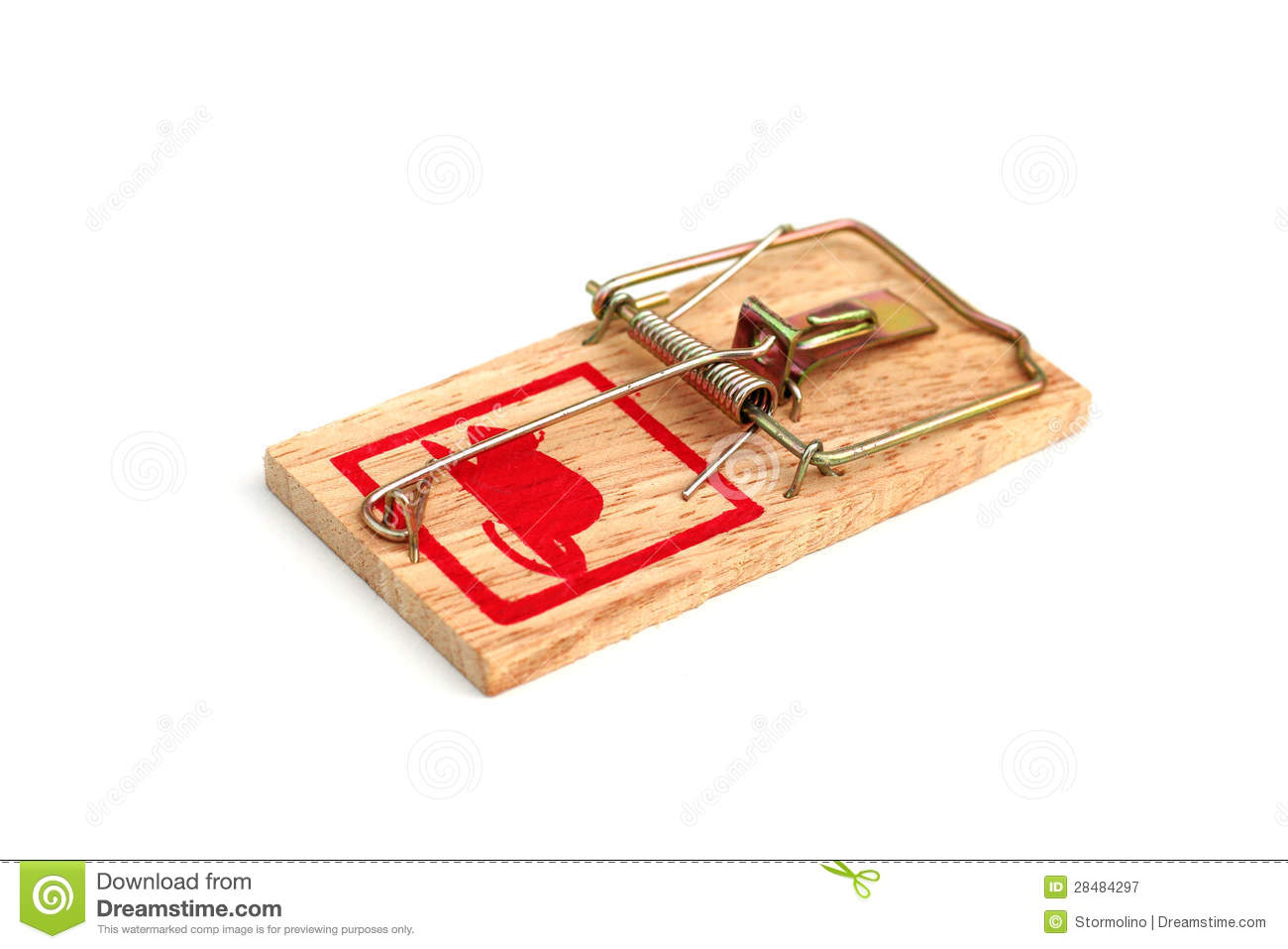 how to catch a mouse with a mouse trap