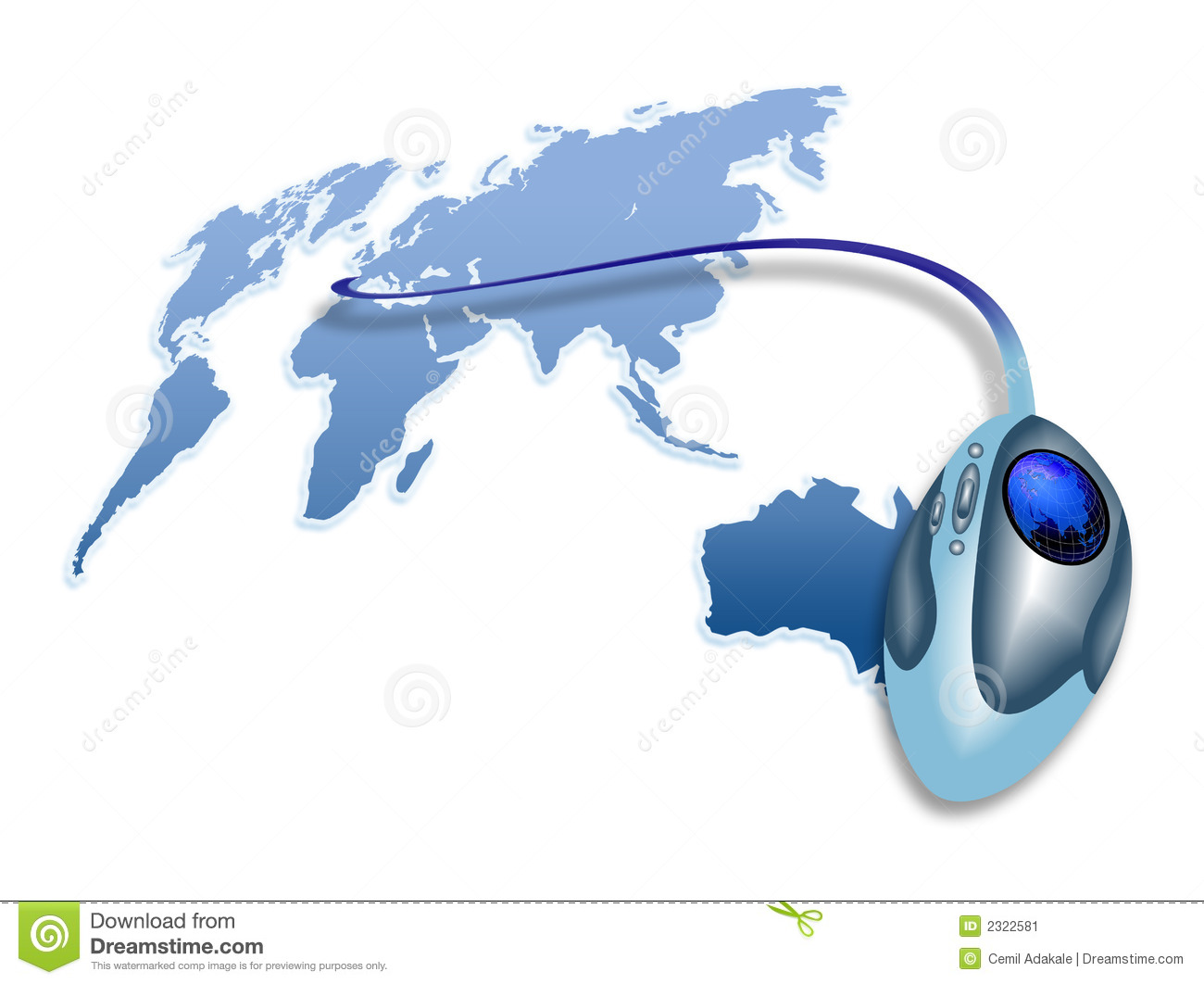 MOUSE OF WORLD