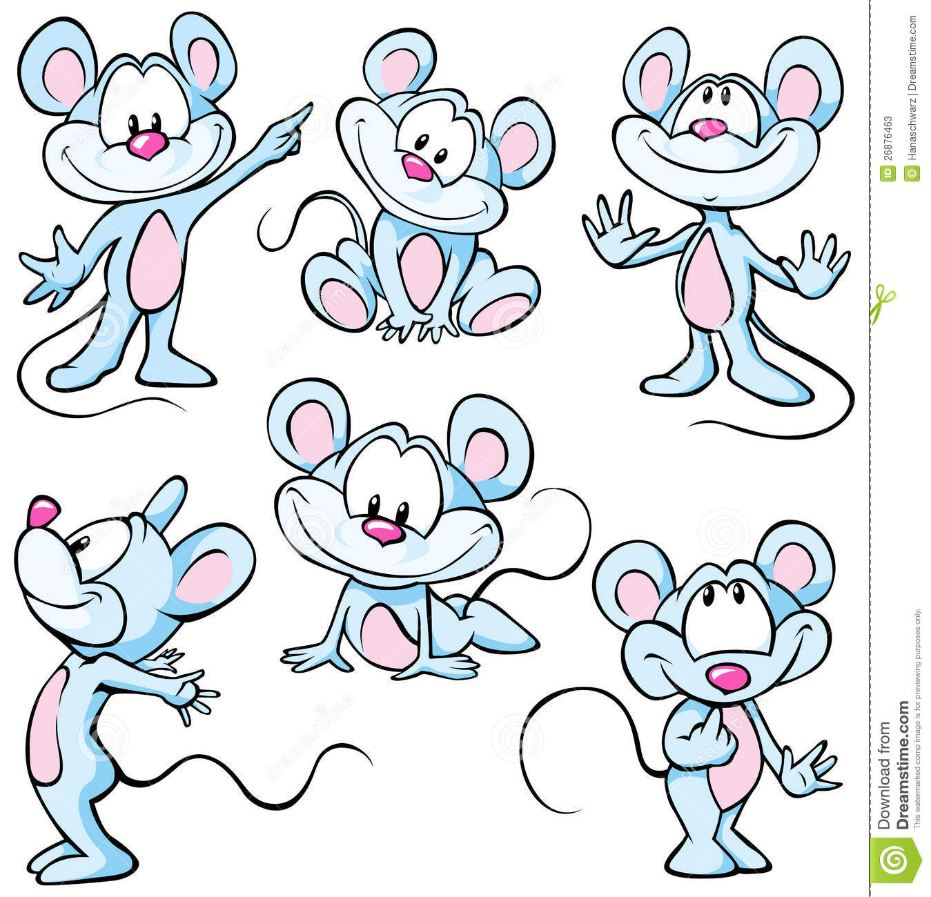 Mouses lindos