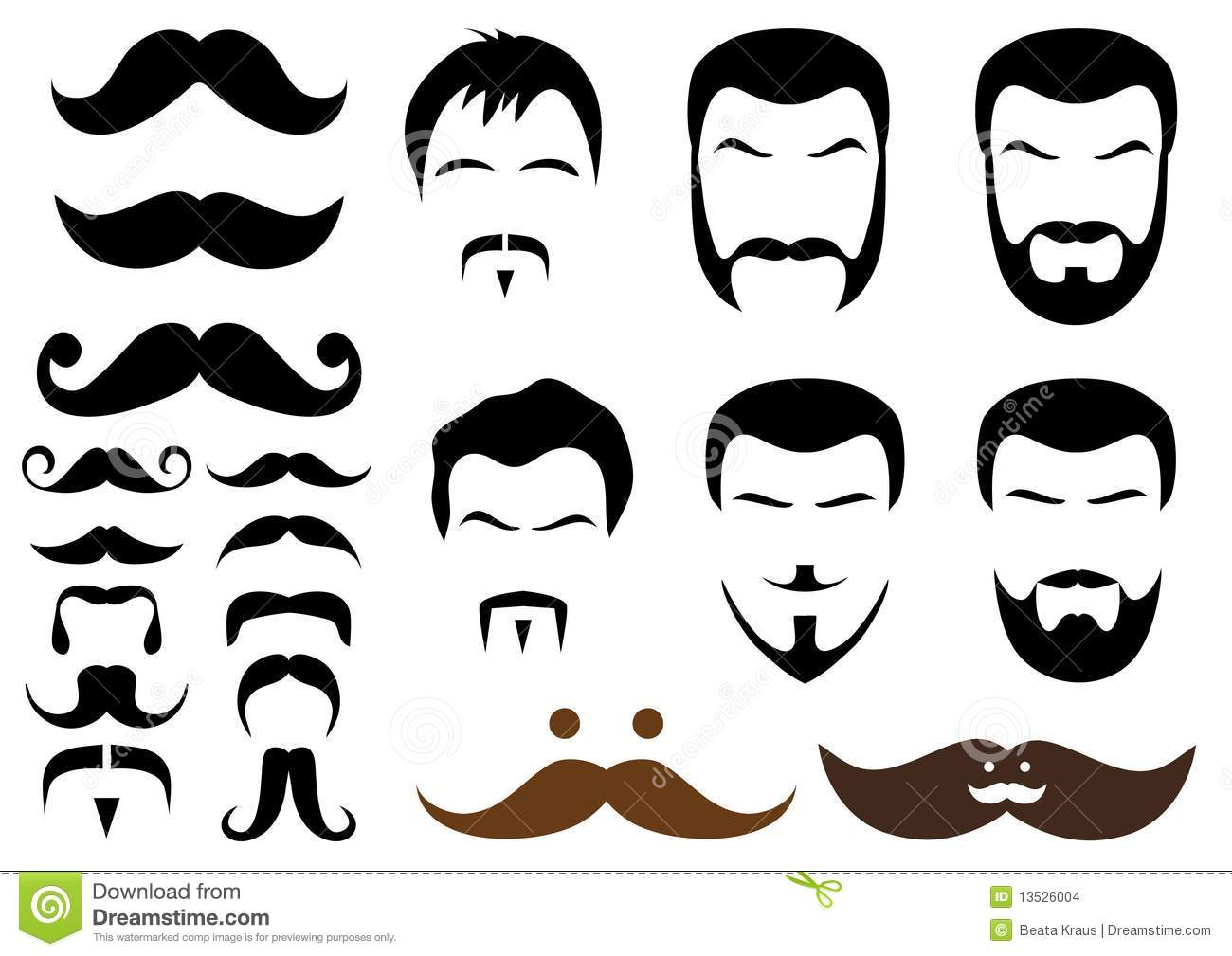 how to grow a curly mustache