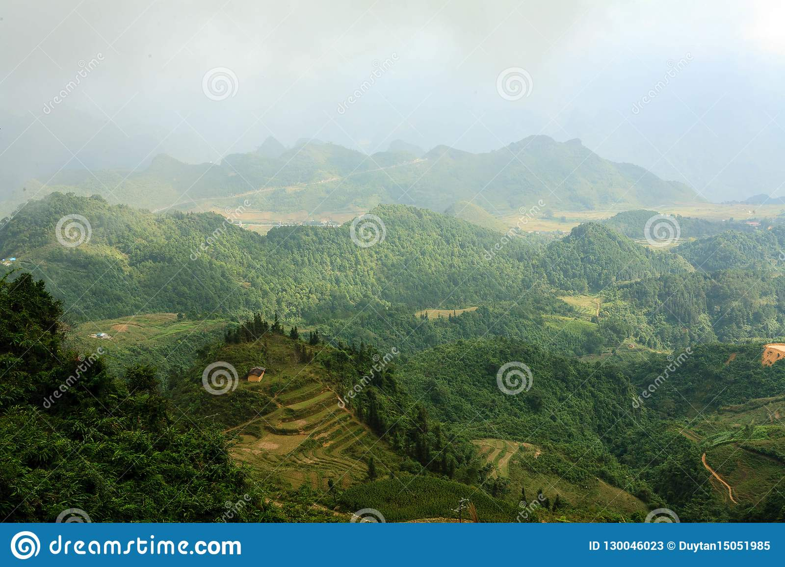 Moutains in Hà Giang