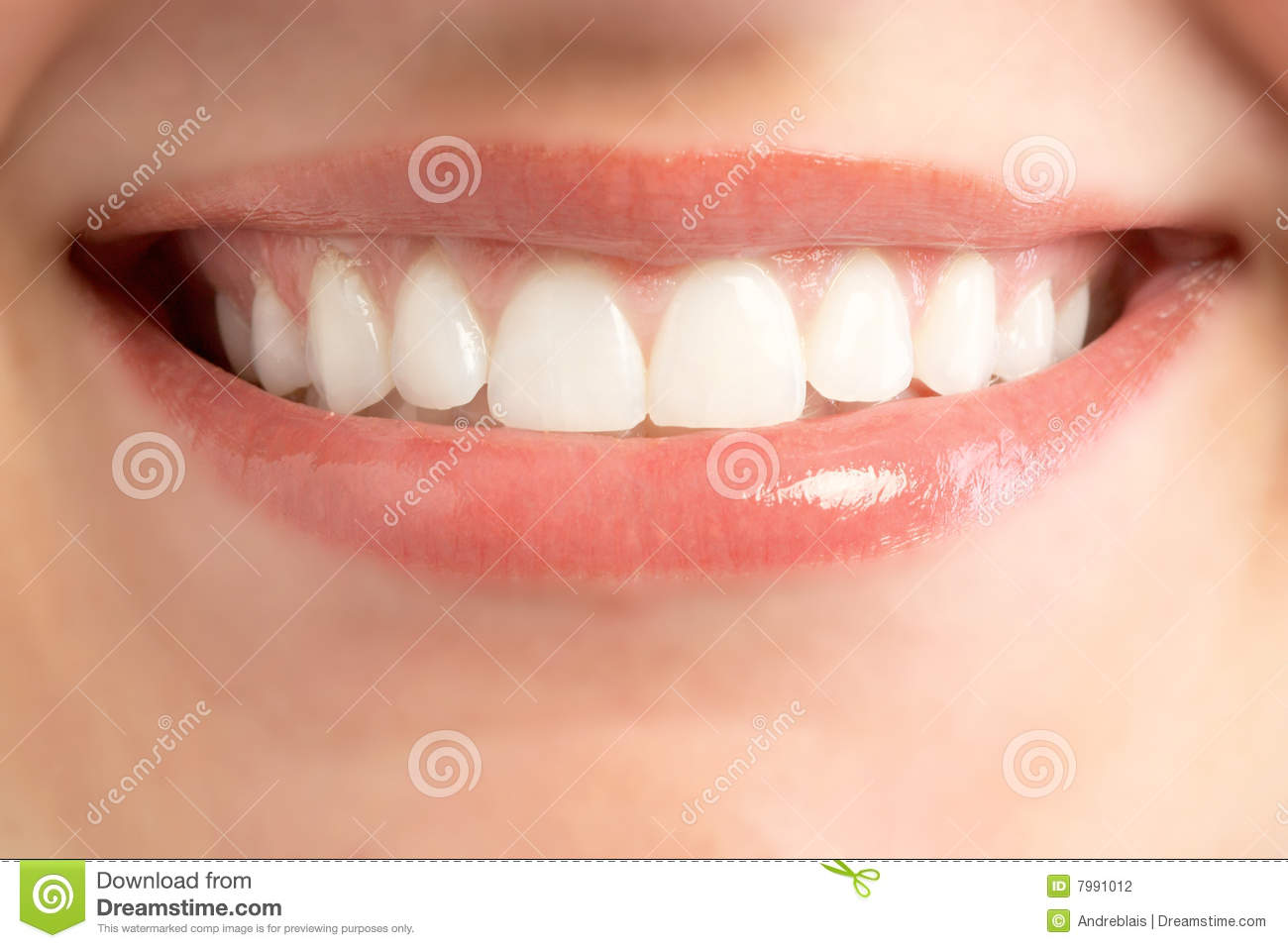Mouth Smile Stock Photography - Image: 7991012