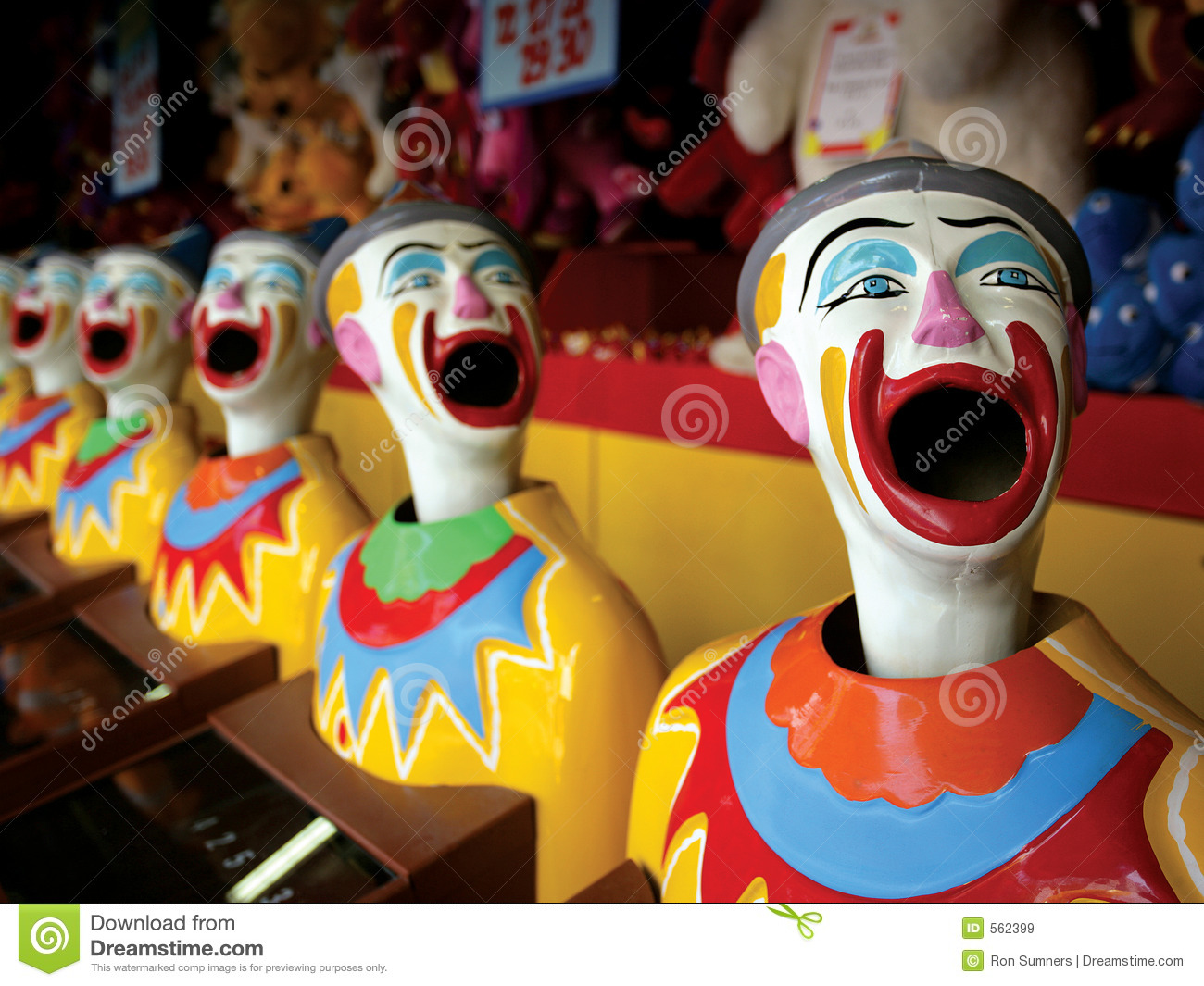Mouthy clowns
