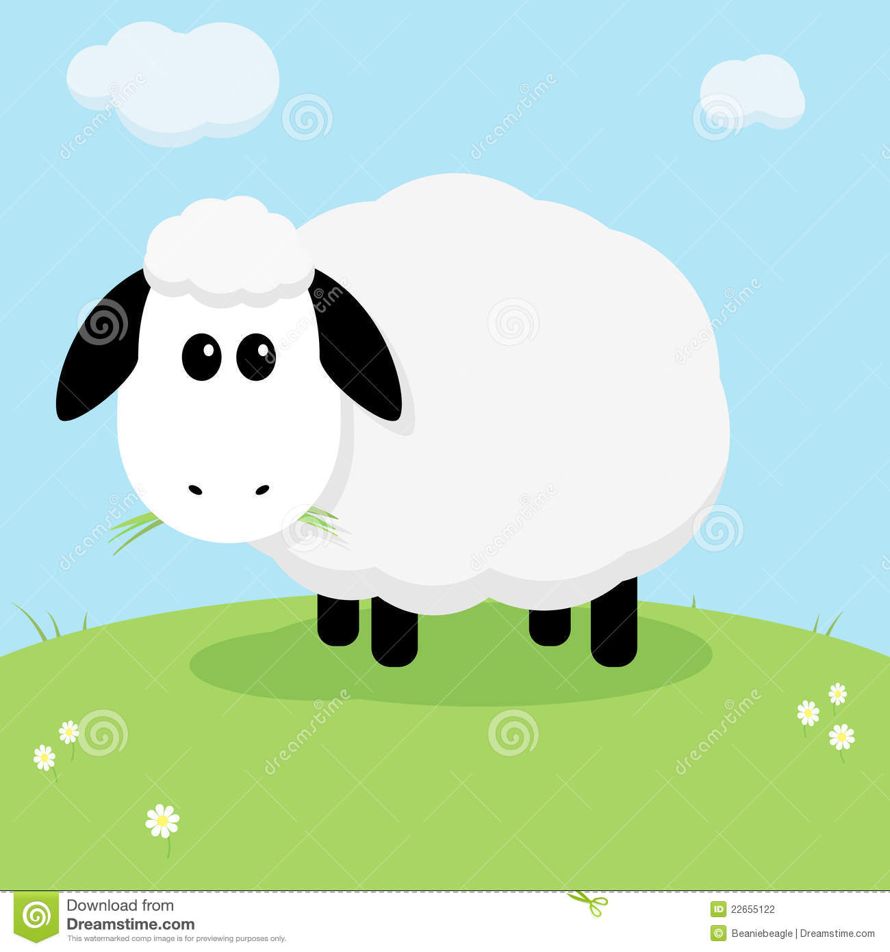 Moutons mignons