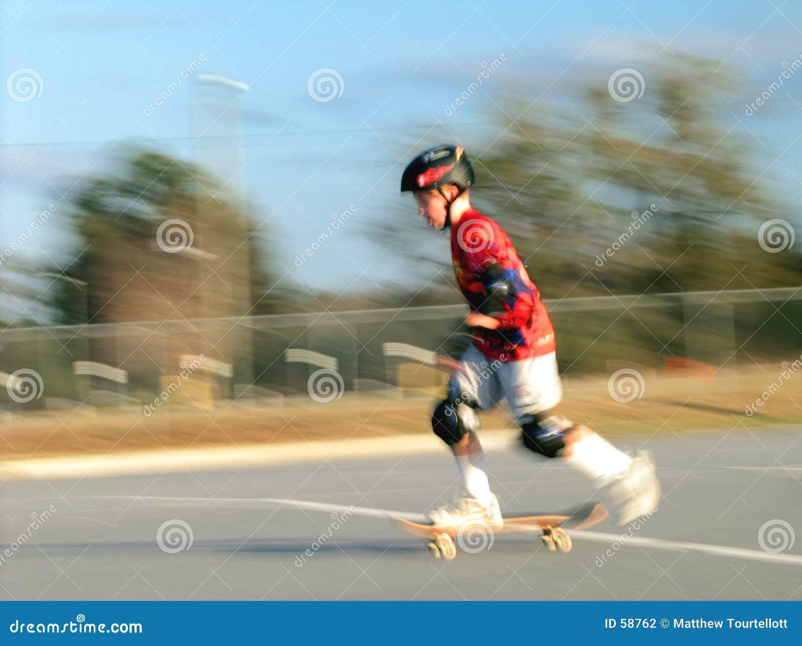 Download Mouvement De Planche à Roulettes Photo stock - Image du garçons, blur: 58762