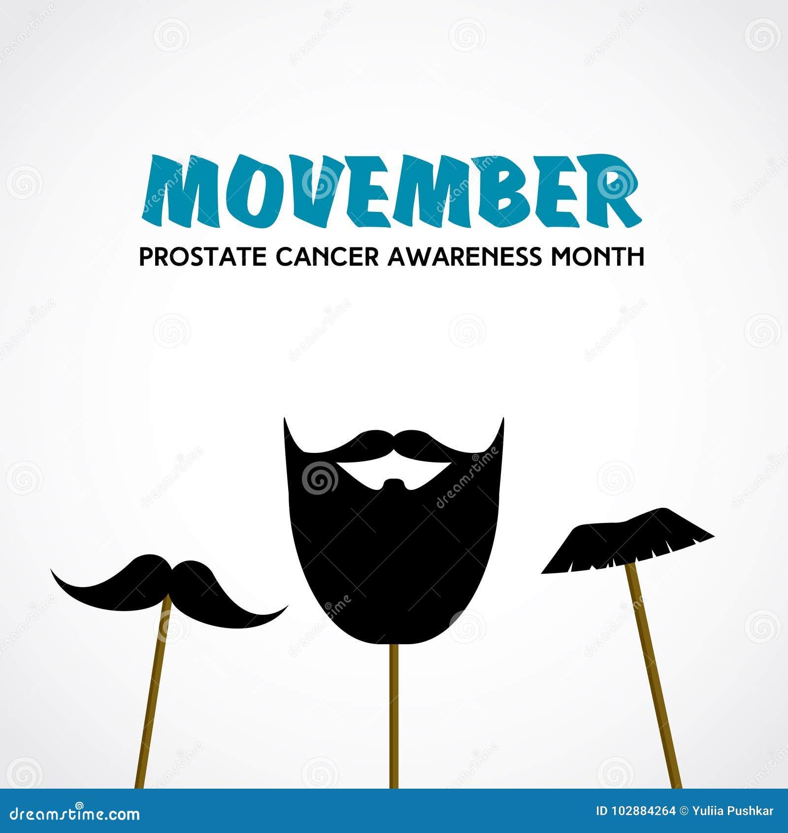 bigote de conciencia de próstata