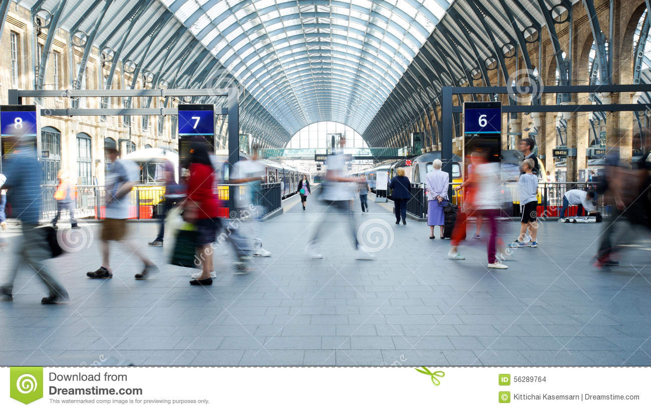 one hour on railway station Definition of station  'thursday's bomb attacks on rush-hour trains and railway  'it is not a far cry from thinking a person is beneath one's station.