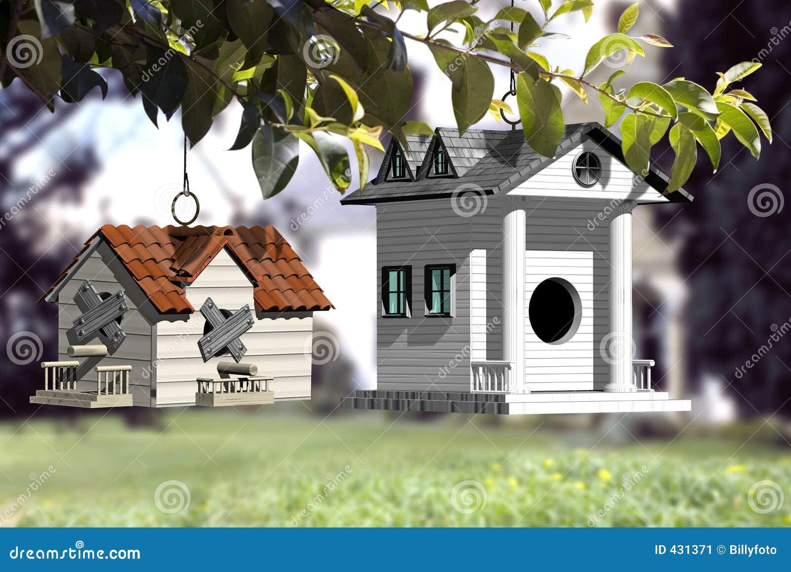 Mover-se para uma casa melhor nova