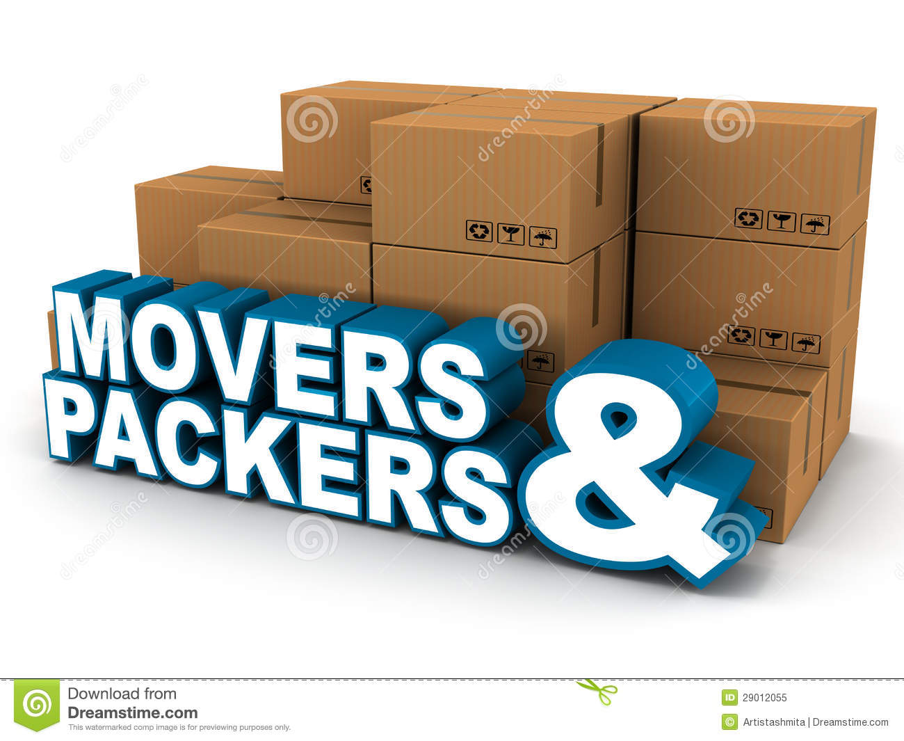 Movers Packers Royalty Free Stock Photo Image 29012055
