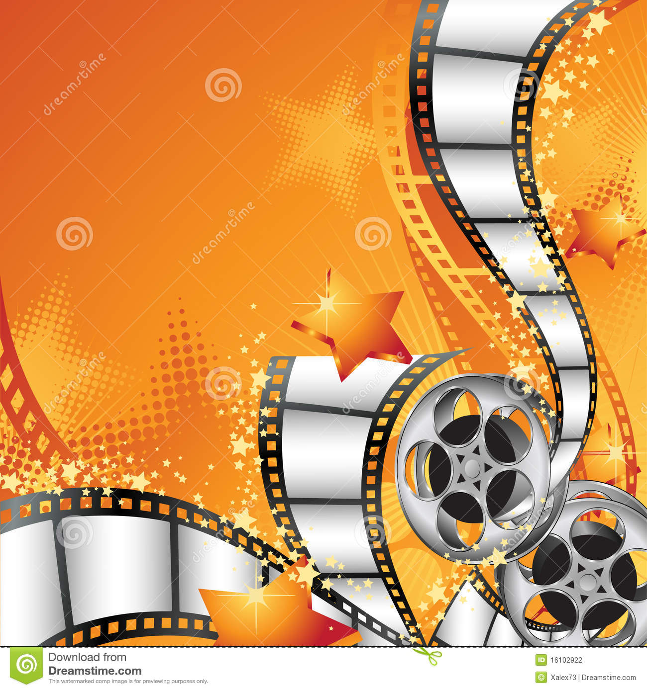 Movie Background Stock Photography Image 16102922