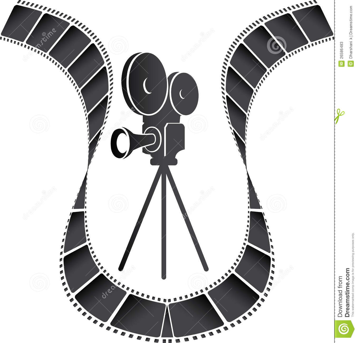 Movie Camera Stock Photos - Image: 26586483